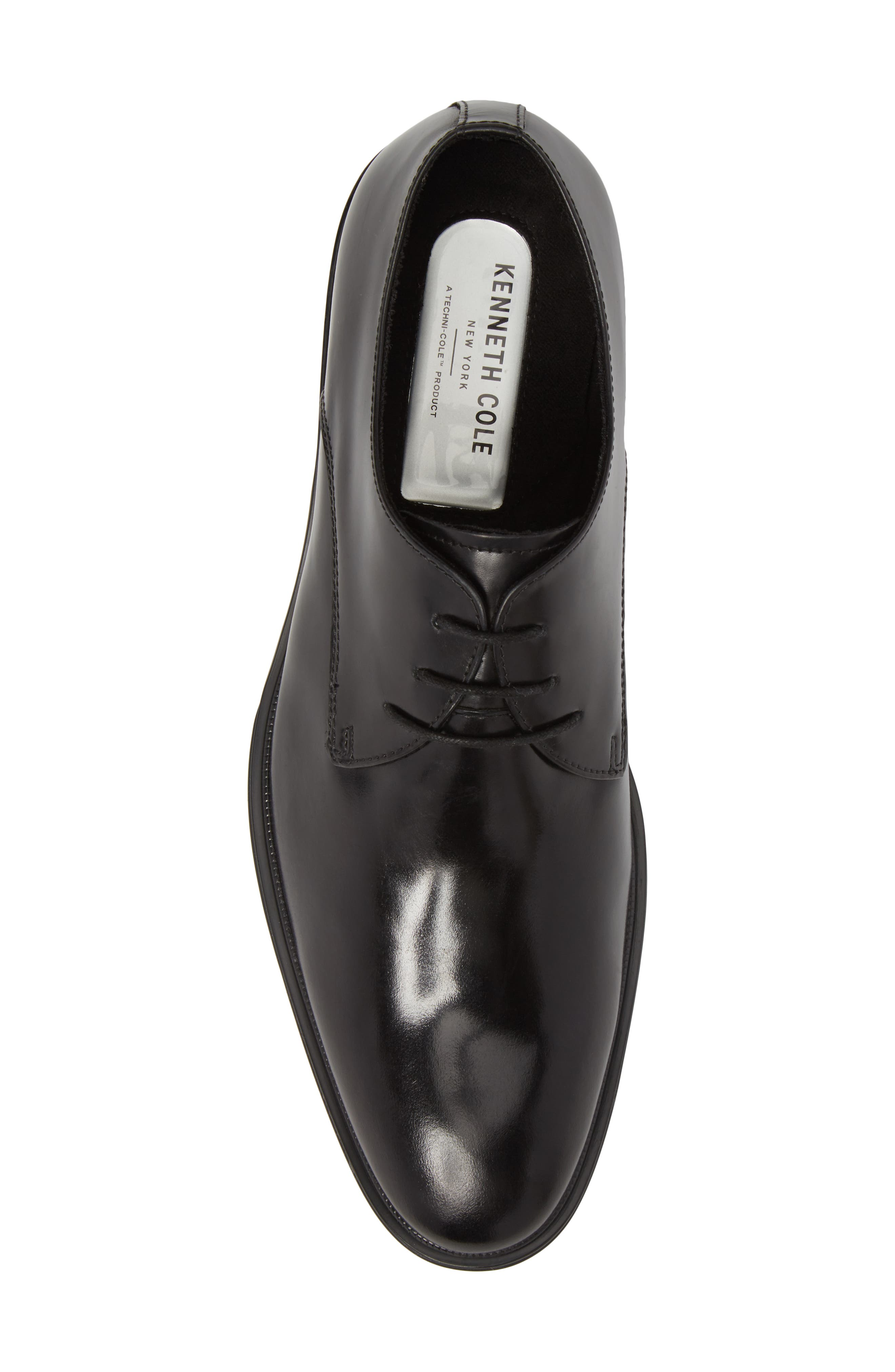Kenneth Cole Tully Plain Toe Derby,                             Alternate thumbnail 5, color,                             001