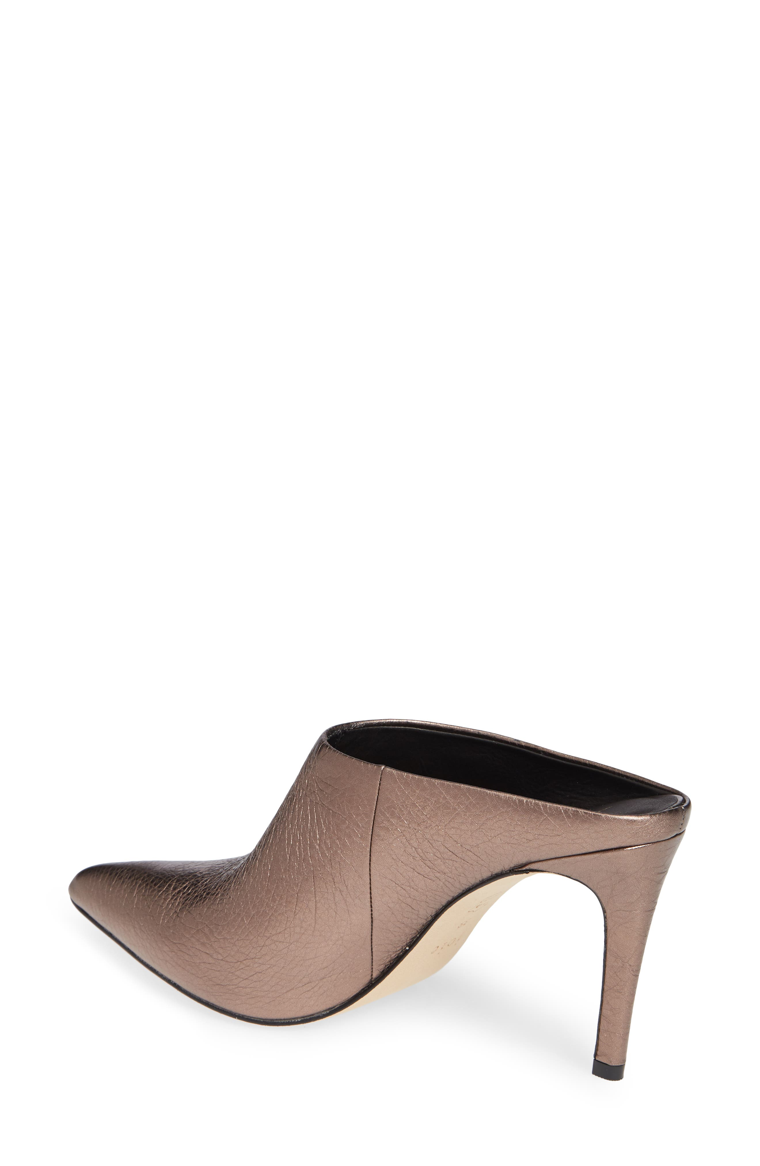 Alinie Pointy Toe Mule,                             Alternate thumbnail 2, color,                             BRONZE