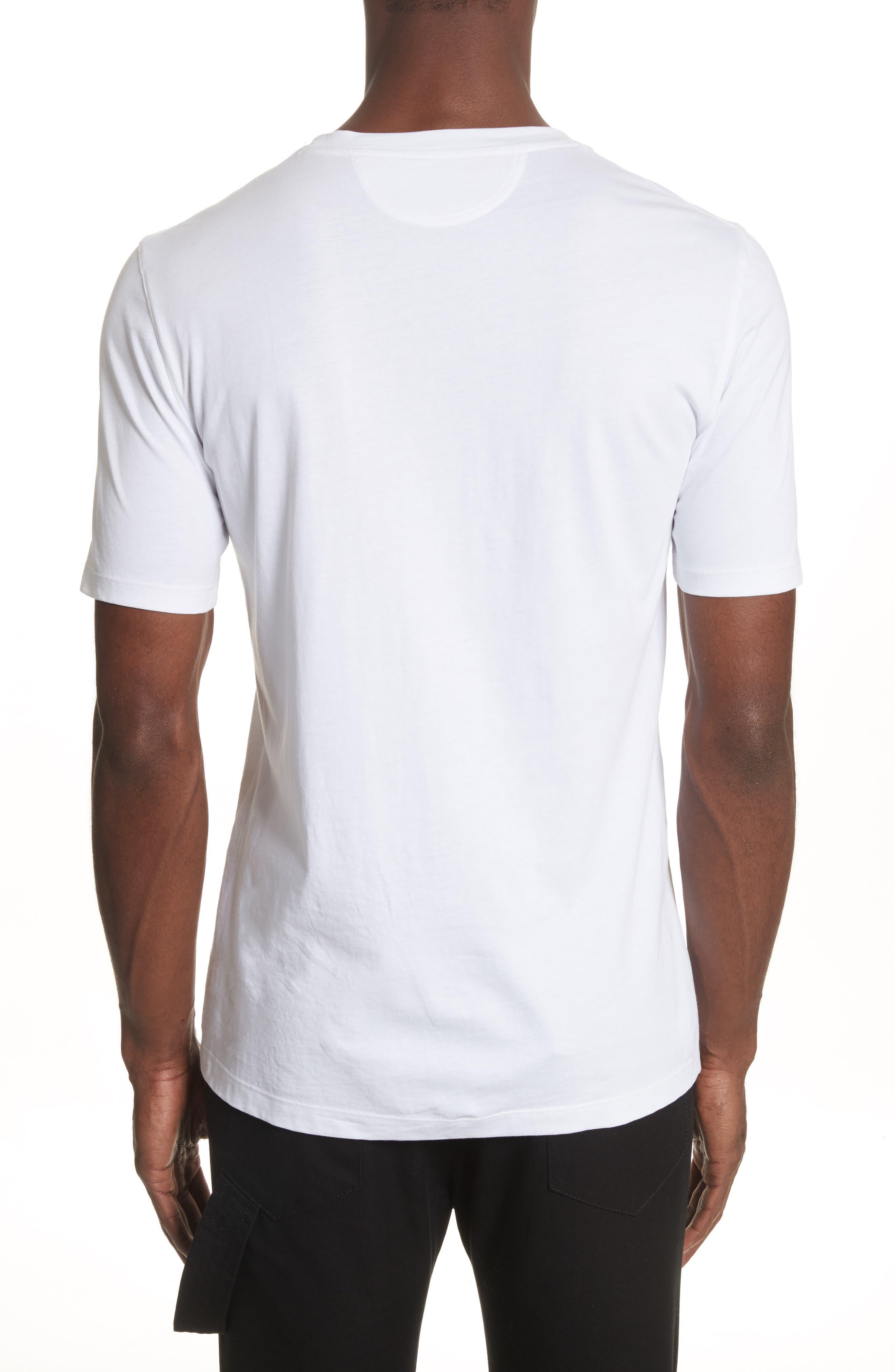 Oversize T-Shirt,                             Alternate thumbnail 2, color,                             WHITE