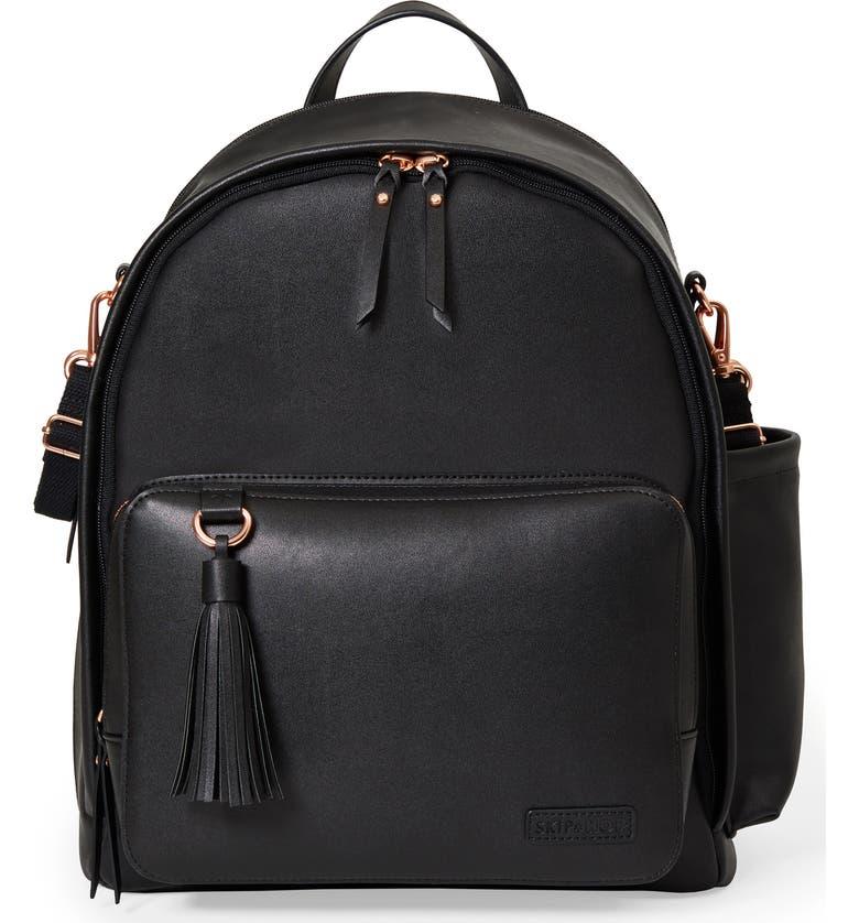 fd9440533bf4 Skip Hop Greenwich Simply Chic Diaper Backpack