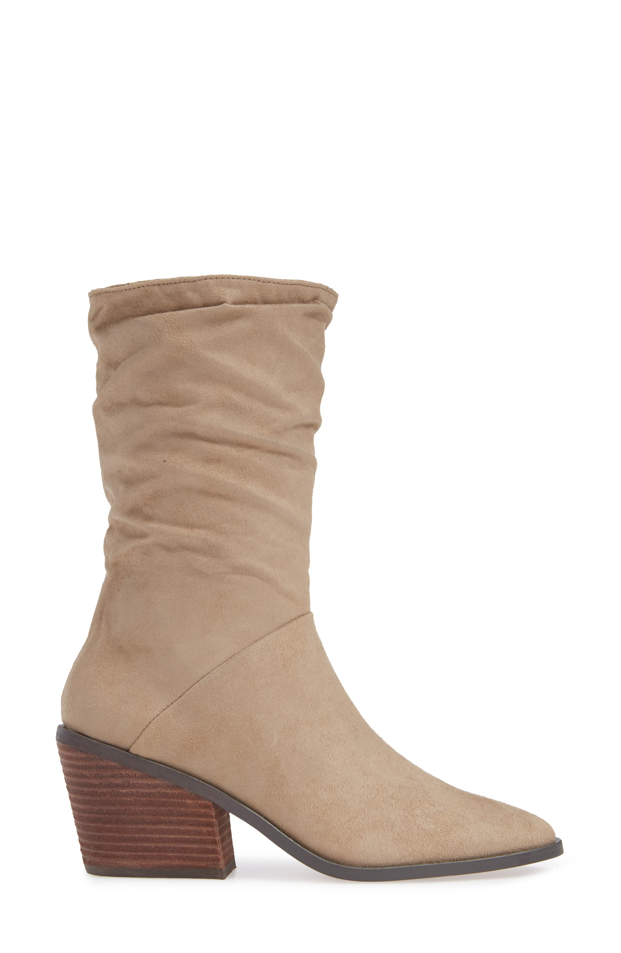 Crash Bootie,                             Alternate thumbnail 3, color,                             NATURAL BURNISHED MICRO