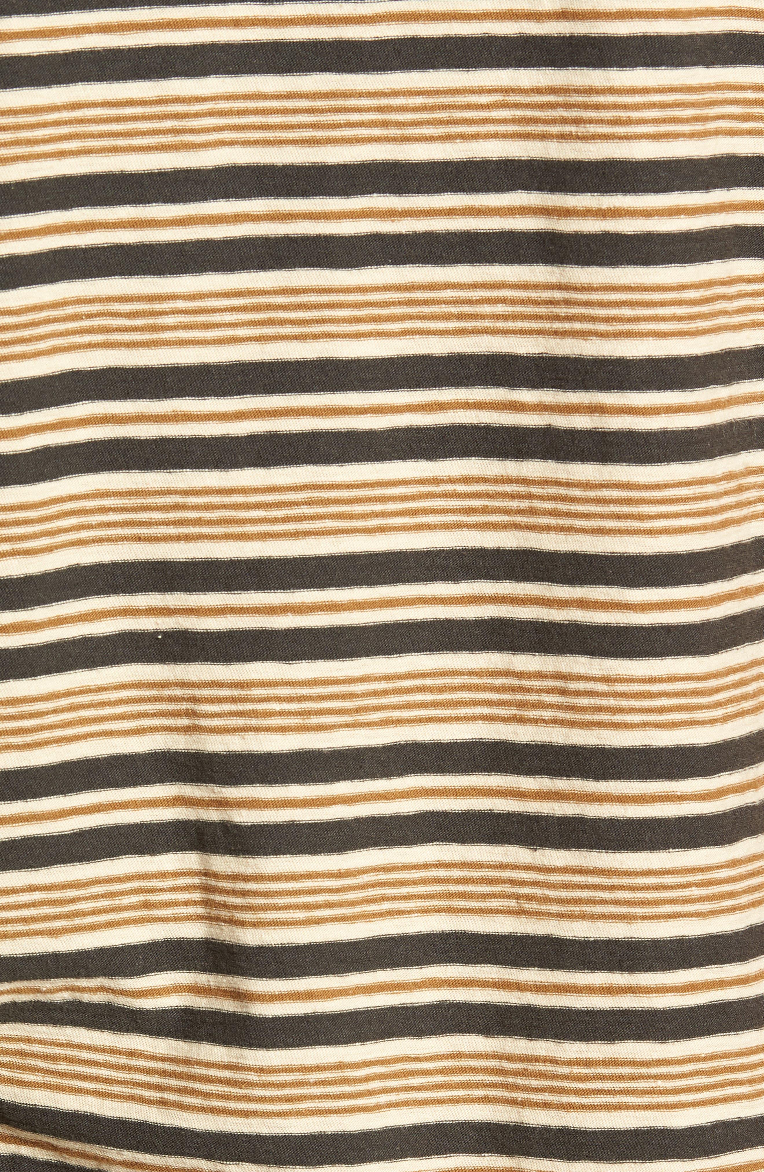 Vintage Stripe Regular Fit Pocket T-Shirt,                             Alternate thumbnail 5, color,                             300
