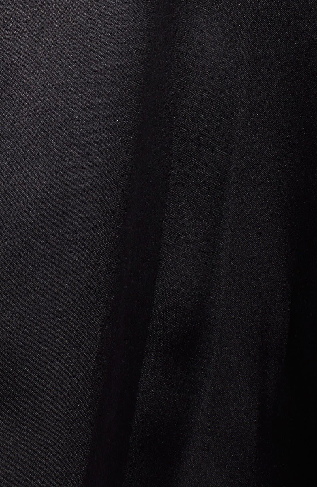ST. JOHN COLLECTION,                             Satin Face Silk Organza Ballgown Skirt,                             Alternate thumbnail 4, color,                             001