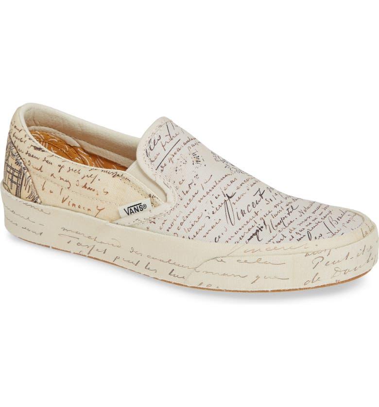 01013f5c708 Vans x Van Gogh Museum Collection UA Classic Slip-On Sneaker (Women ...