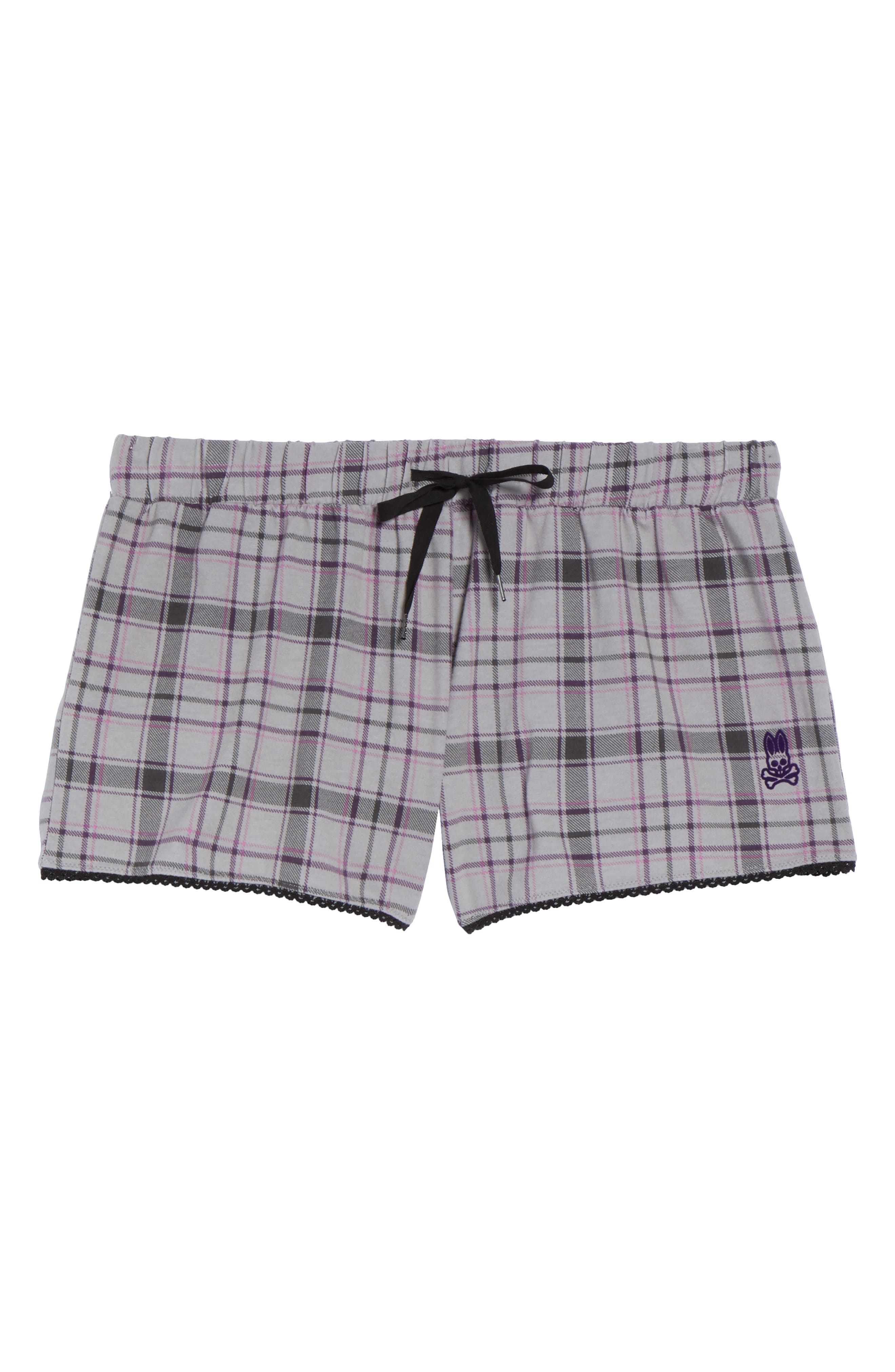 Pajama Shorts,                             Alternate thumbnail 6, color,                             020