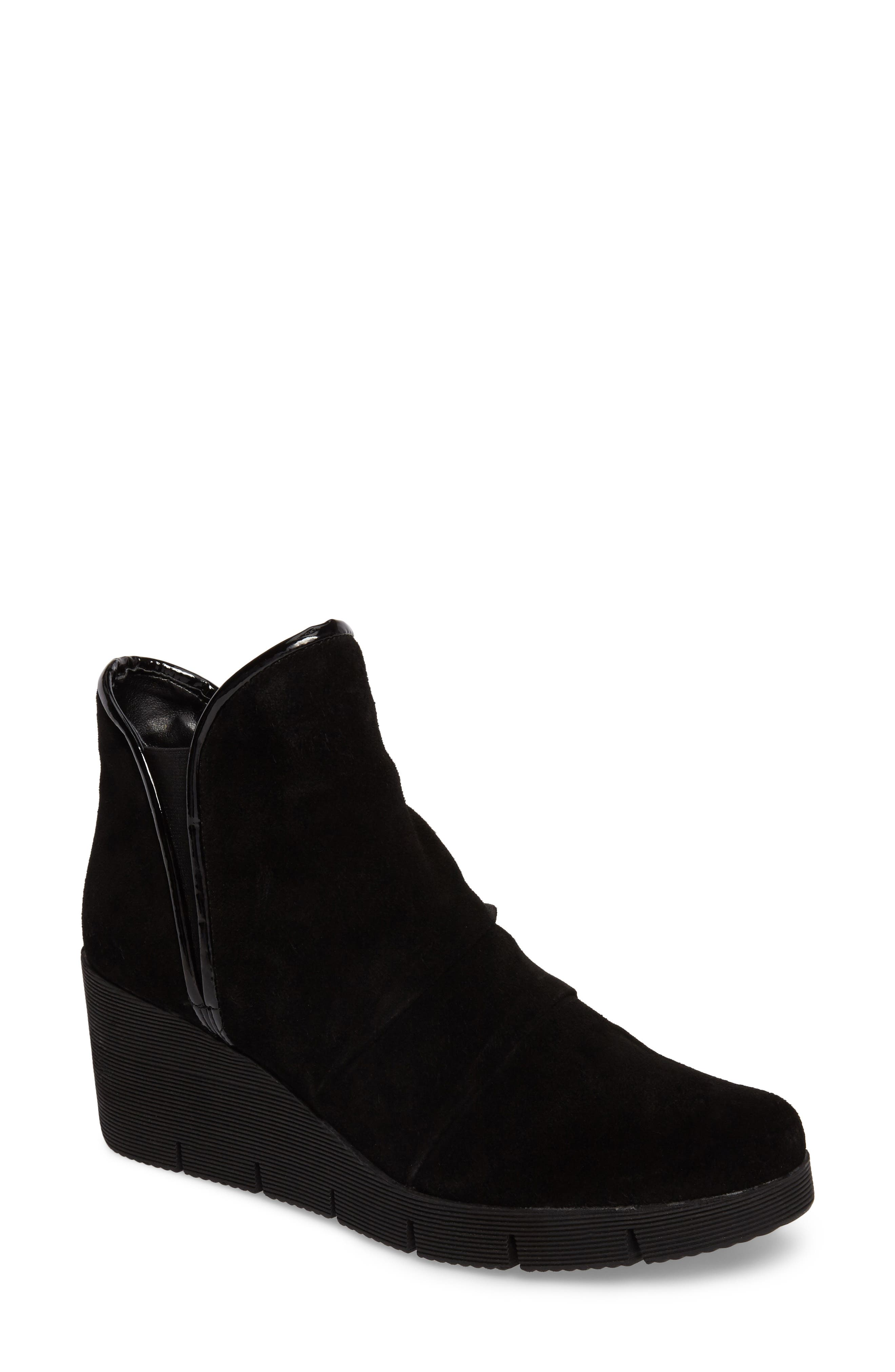 'Spaceless' Chelsea Wedge Boot,                             Main thumbnail 1, color,                             003