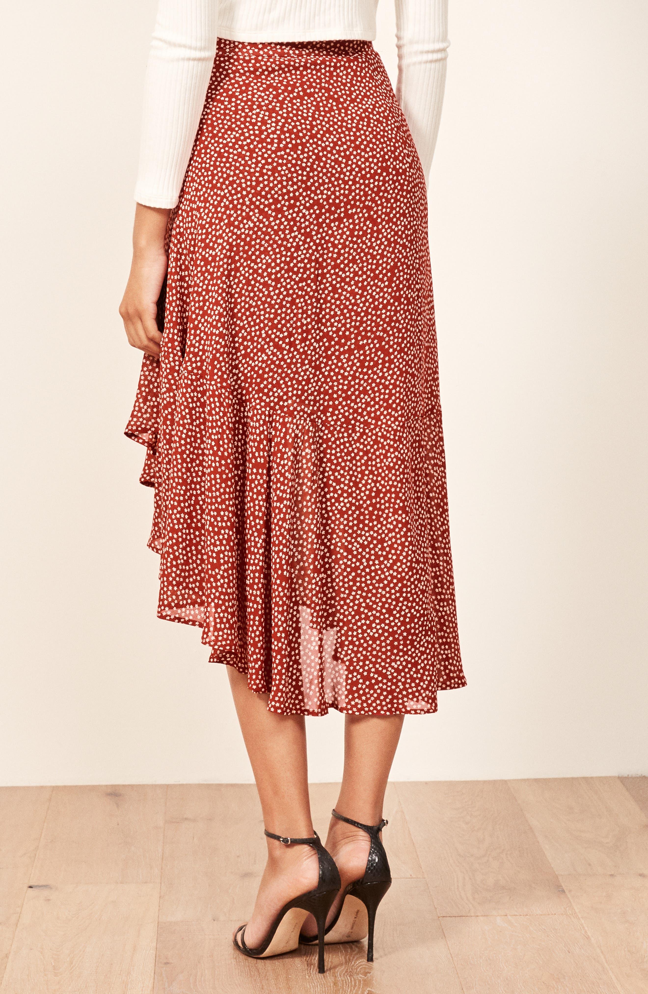 Annaliese Wrap Skirt,                             Alternate thumbnail 3, color,                             600
