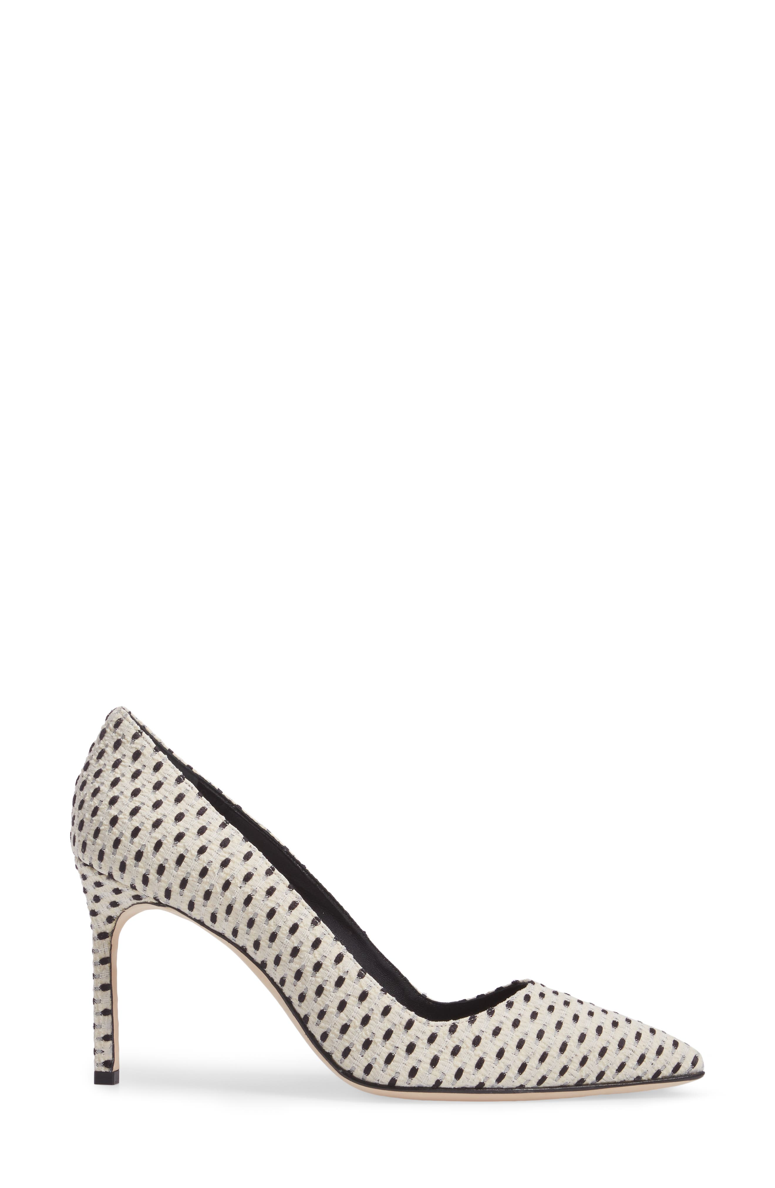 BB Pointy Toe Pump,                             Alternate thumbnail 3, color,                             100