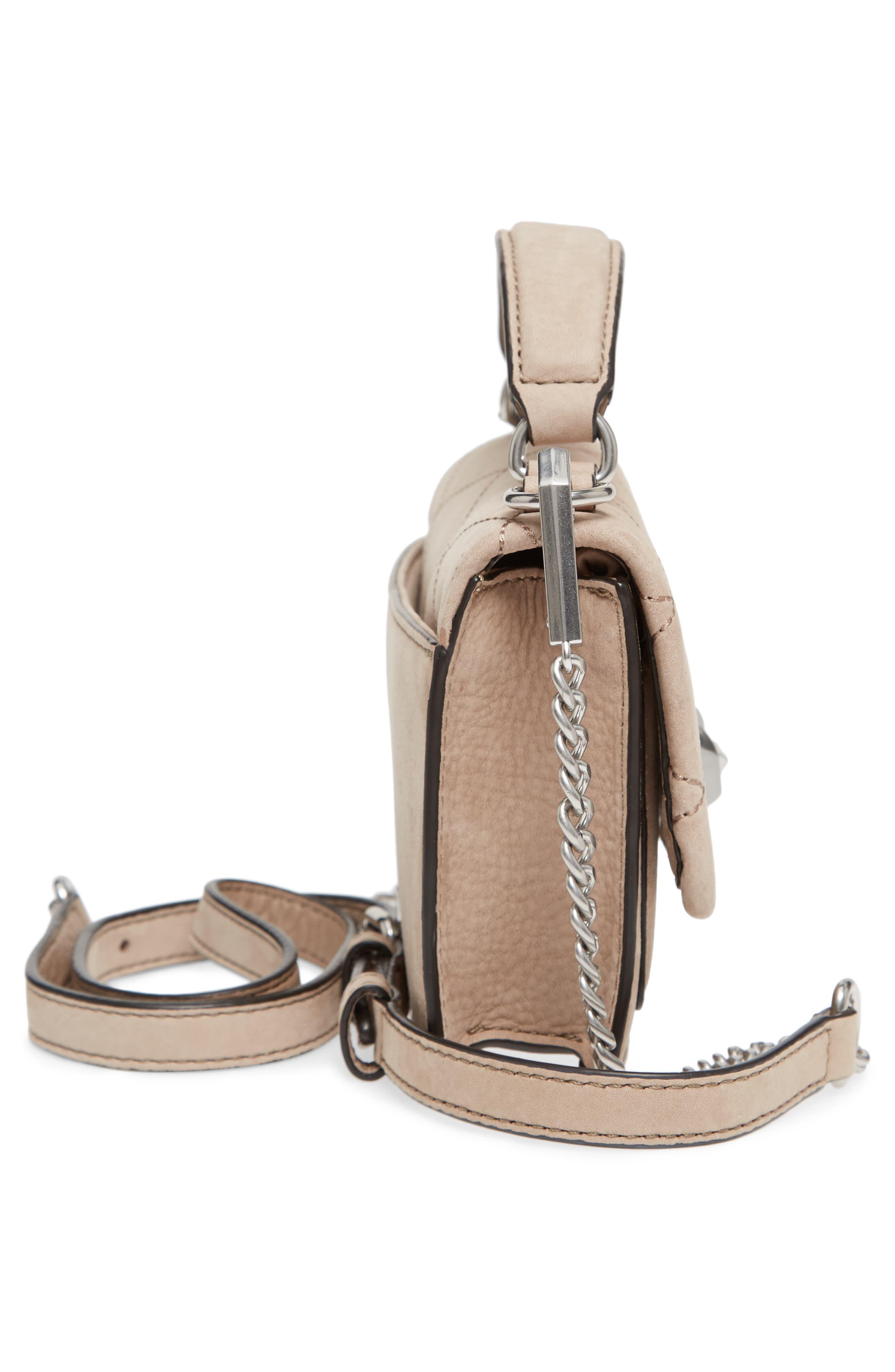 Small Je T'aime Leather Crossbody Bag,                             Alternate thumbnail 5, color,                             265