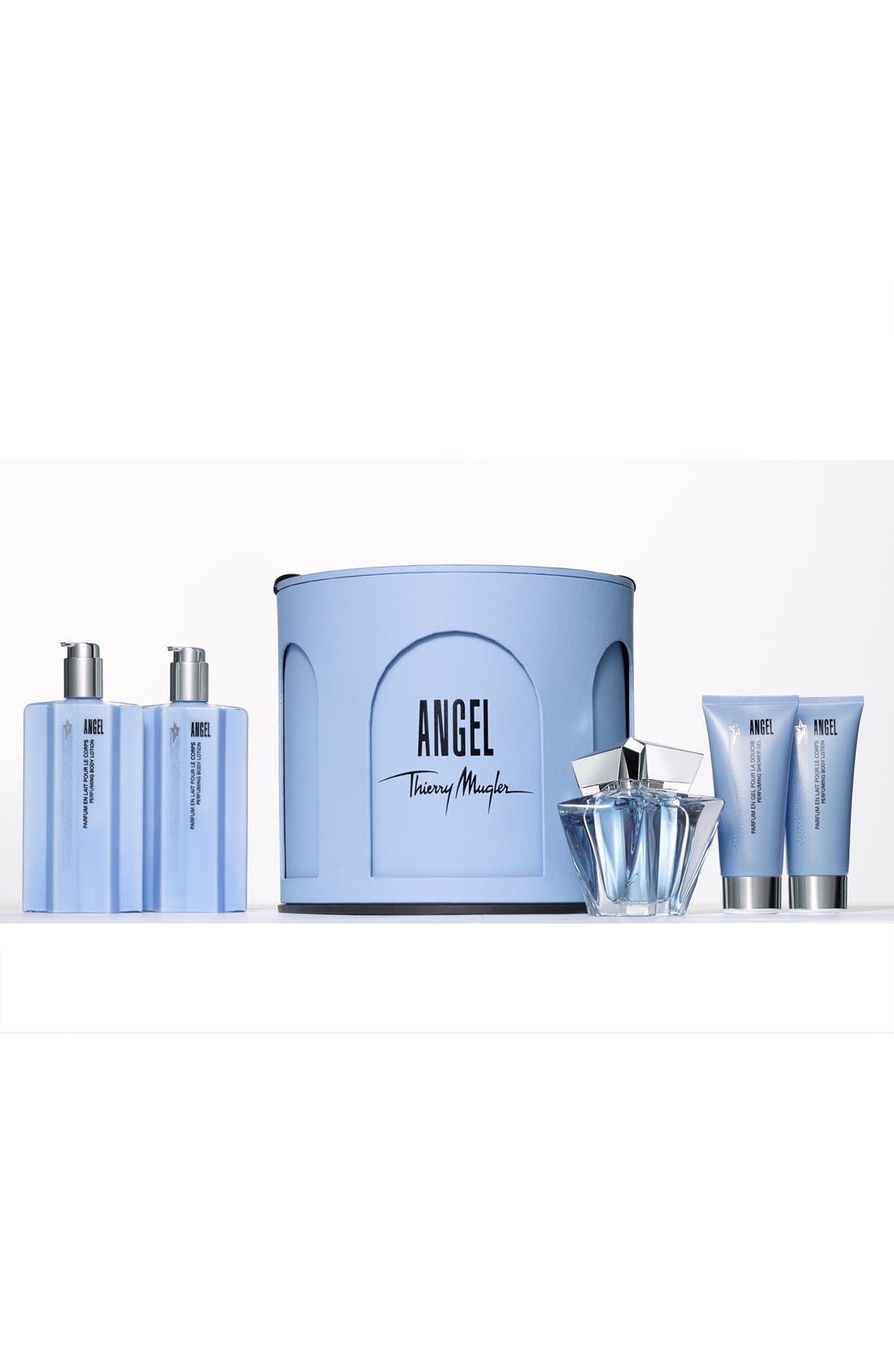 Angel by Mugler Double Indulgence Body Lotion Duo,                             Alternate thumbnail 2, color,                             000
