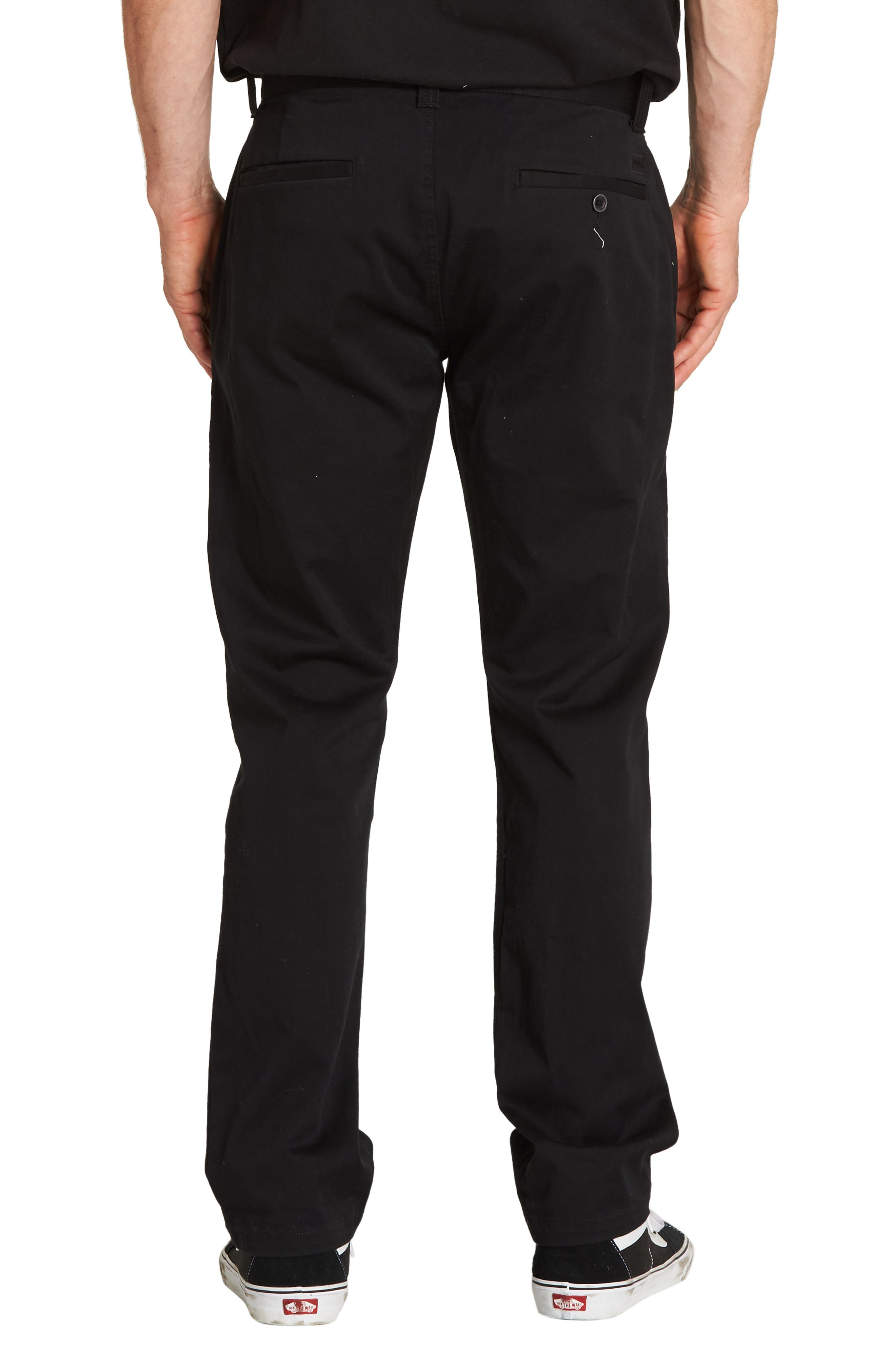 Carter Slim Stretch Chino Pants,                             Alternate thumbnail 2, color,                             001