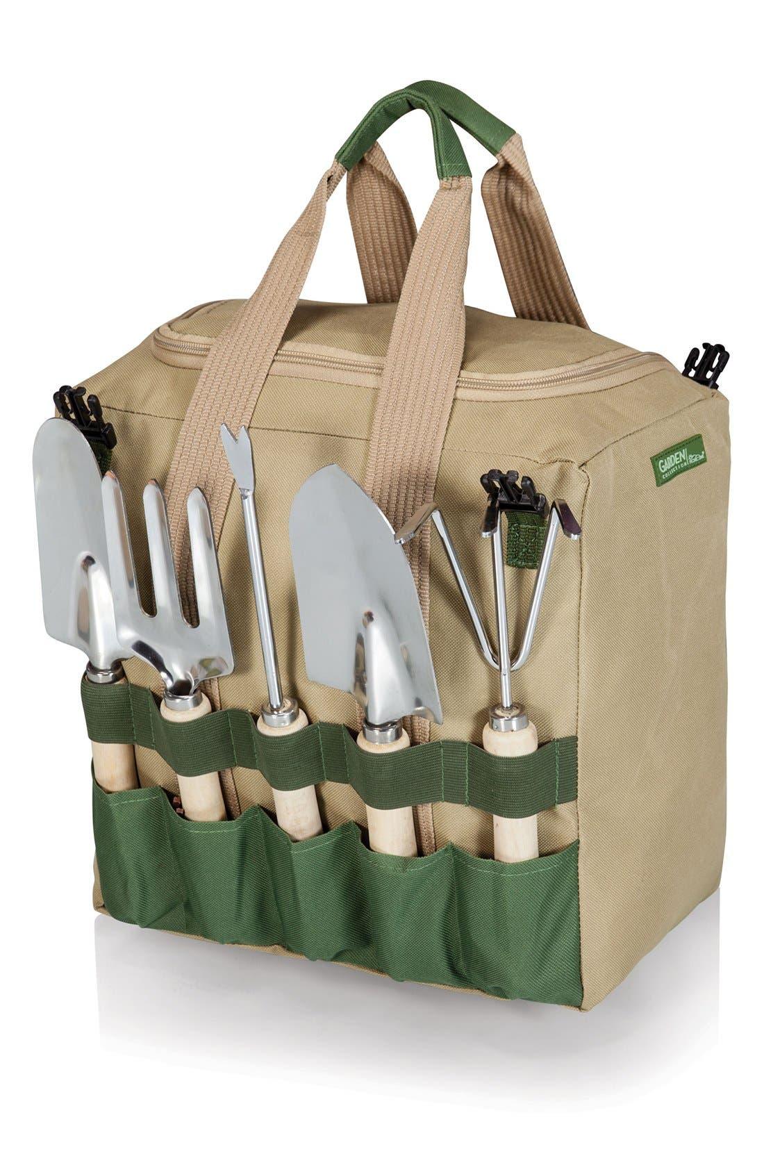 Picnic Time Gardener Seat & Tools,                             Alternate thumbnail 2, color,                             300