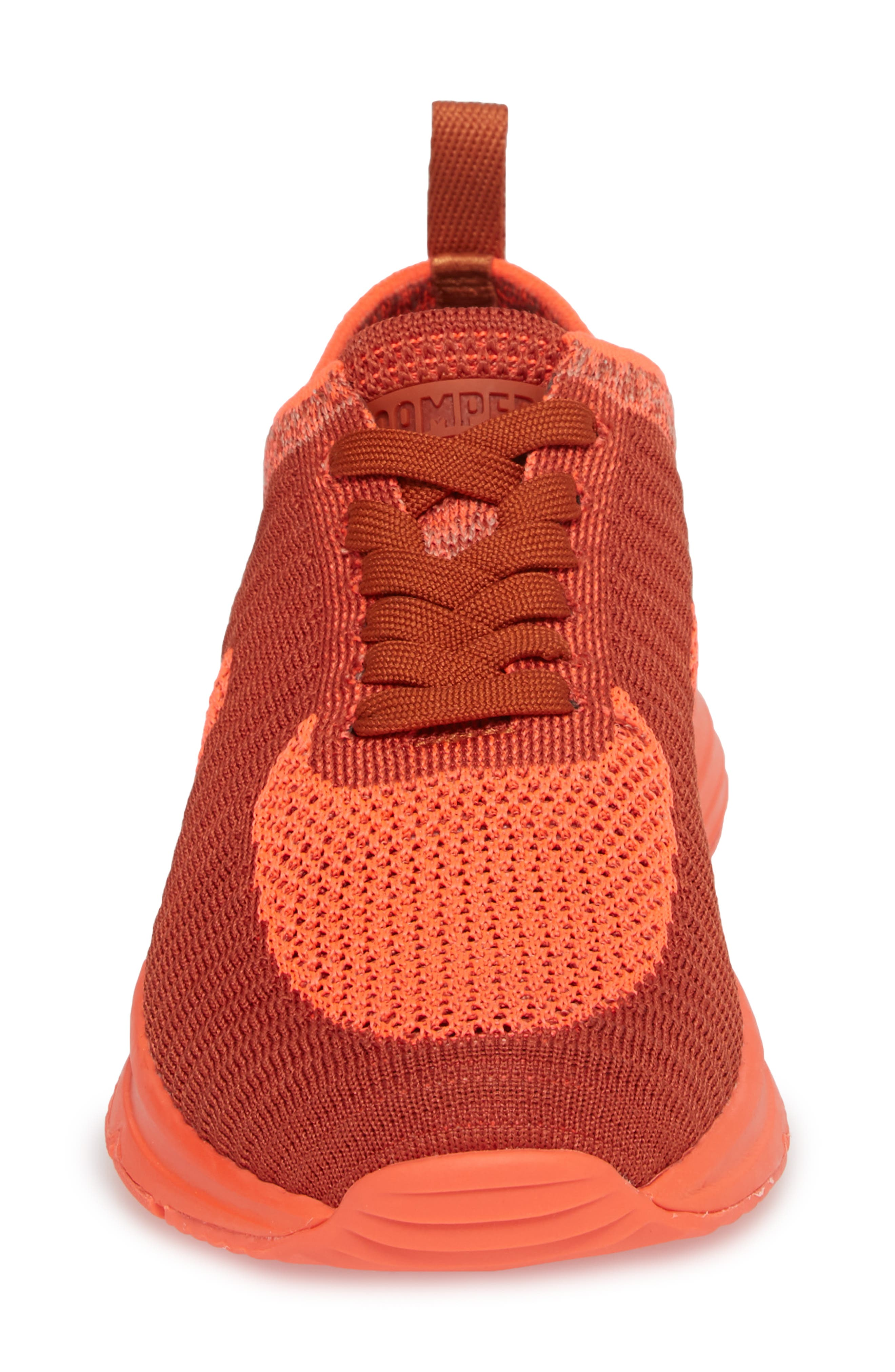 Drift Knit Sneaker,                             Alternate thumbnail 4, color,                             RED - ASSORTED FABRIC