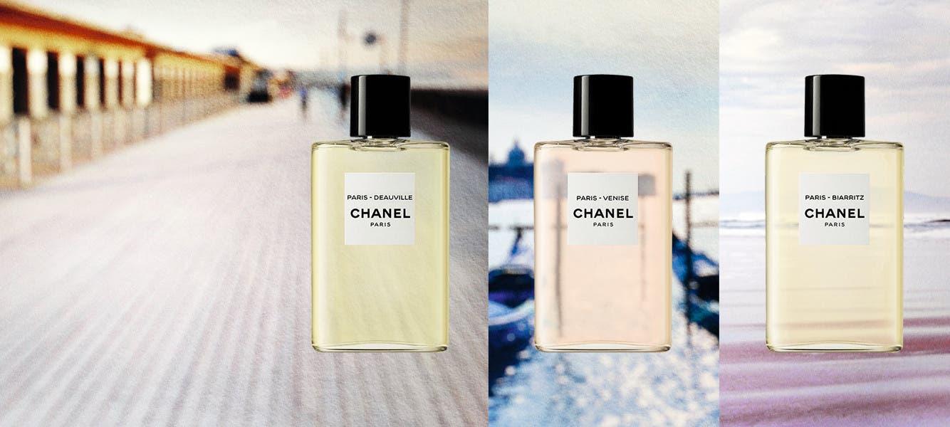 New and exclusively ours: LES EAUX DE CHANEL.