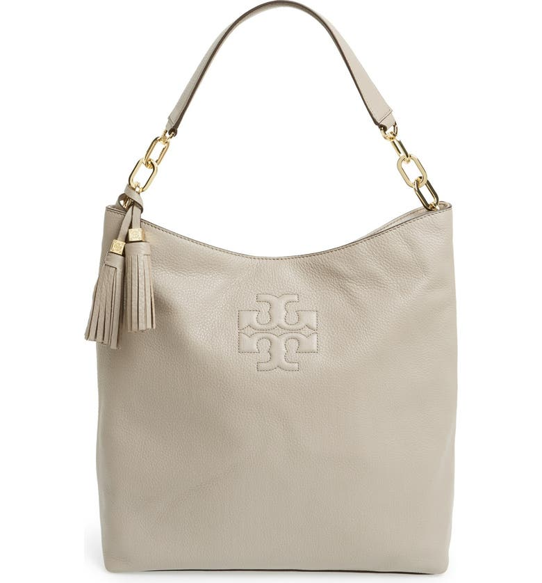 c5d1f3aec373 Tory Burch  Thea  Leather Hobo