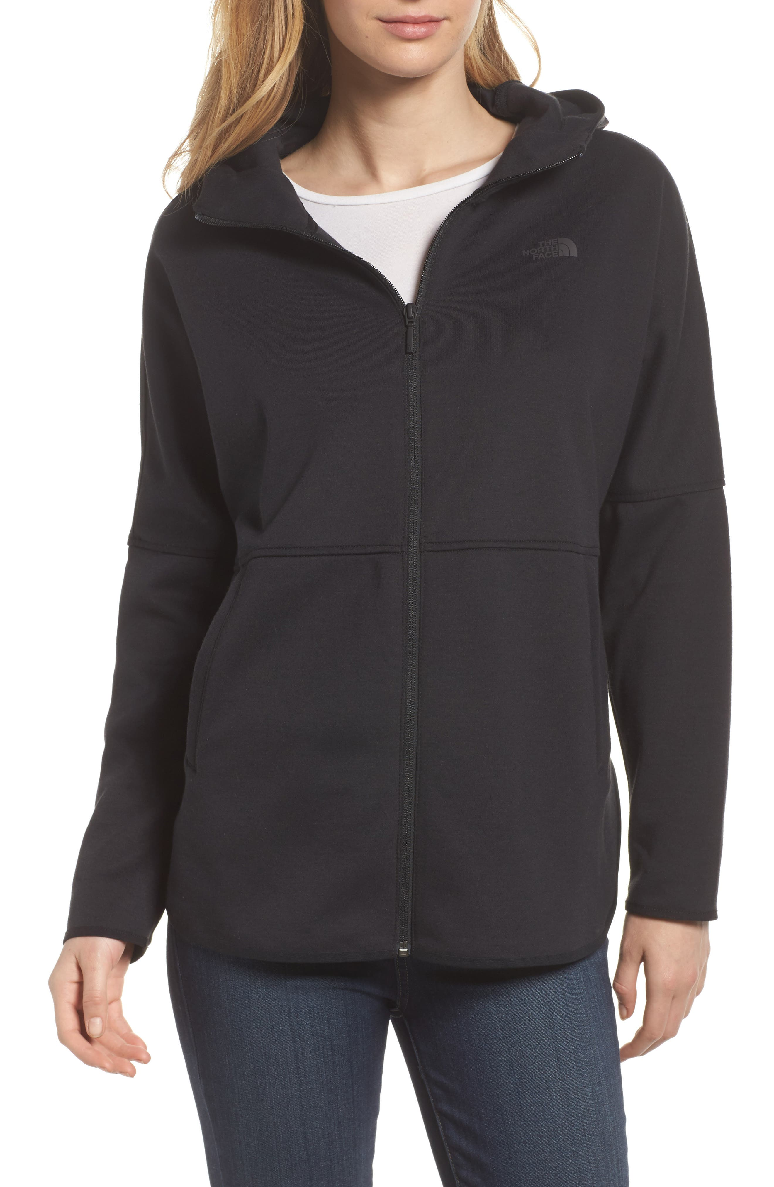 THE NORTH FACE,                             Slacker Hooded Jacket,                             Main thumbnail 1, color,                             001