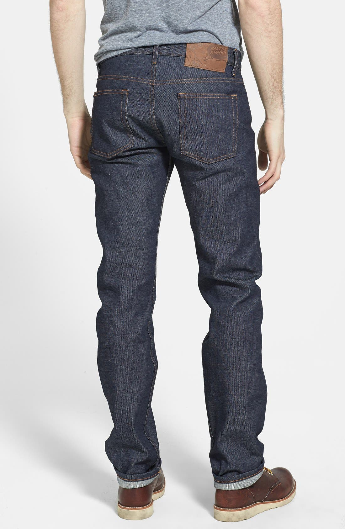 'Weird Guy' Slim Fit Jeans,                             Alternate thumbnail 4, color,                             401