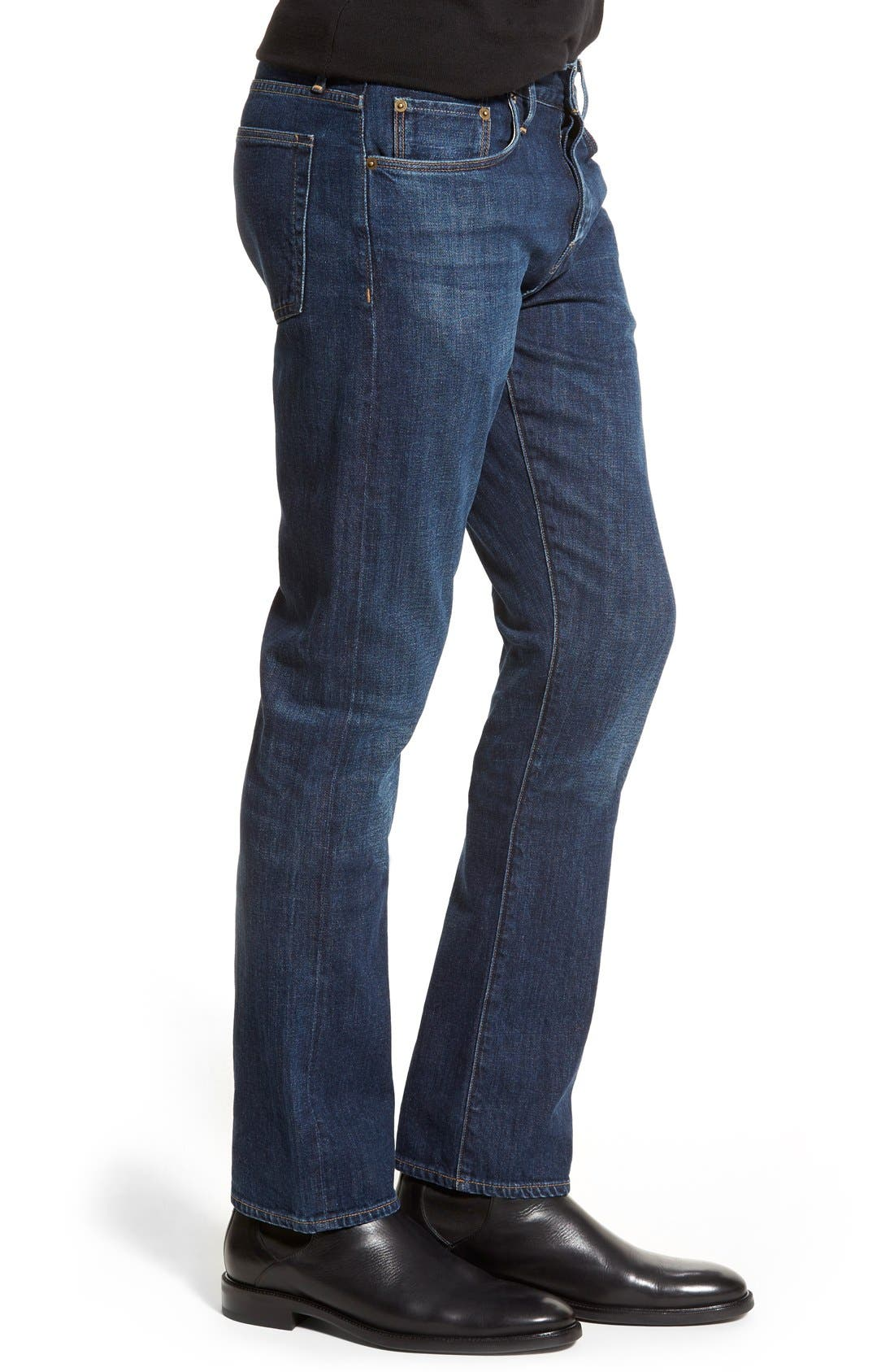 Brit Straight Leg Jeans,                             Alternate thumbnail 2, color,                             404
