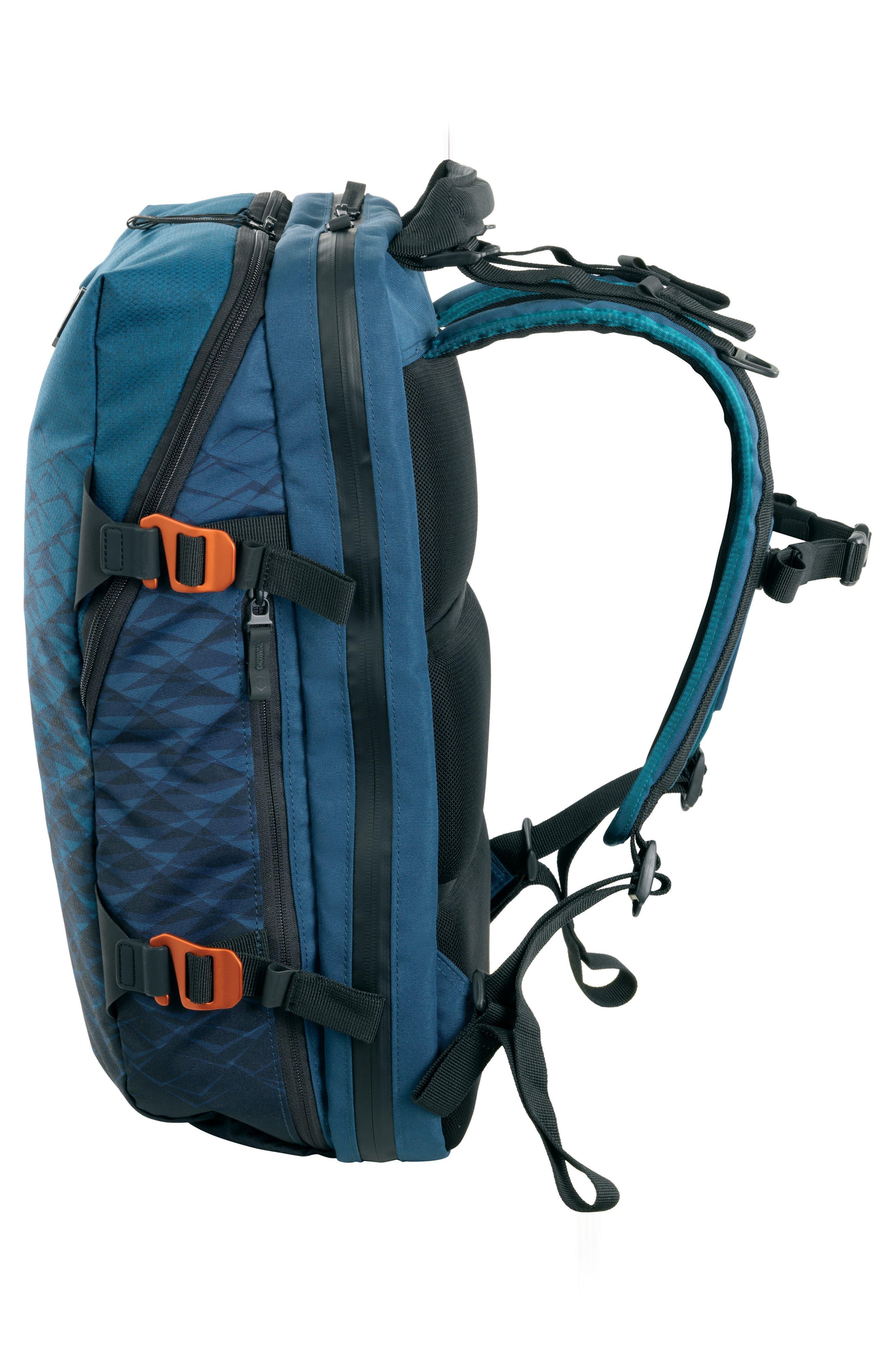 VX Touring Laptop Backpack,                             Alternate thumbnail 3, color,                             DARK TEAL