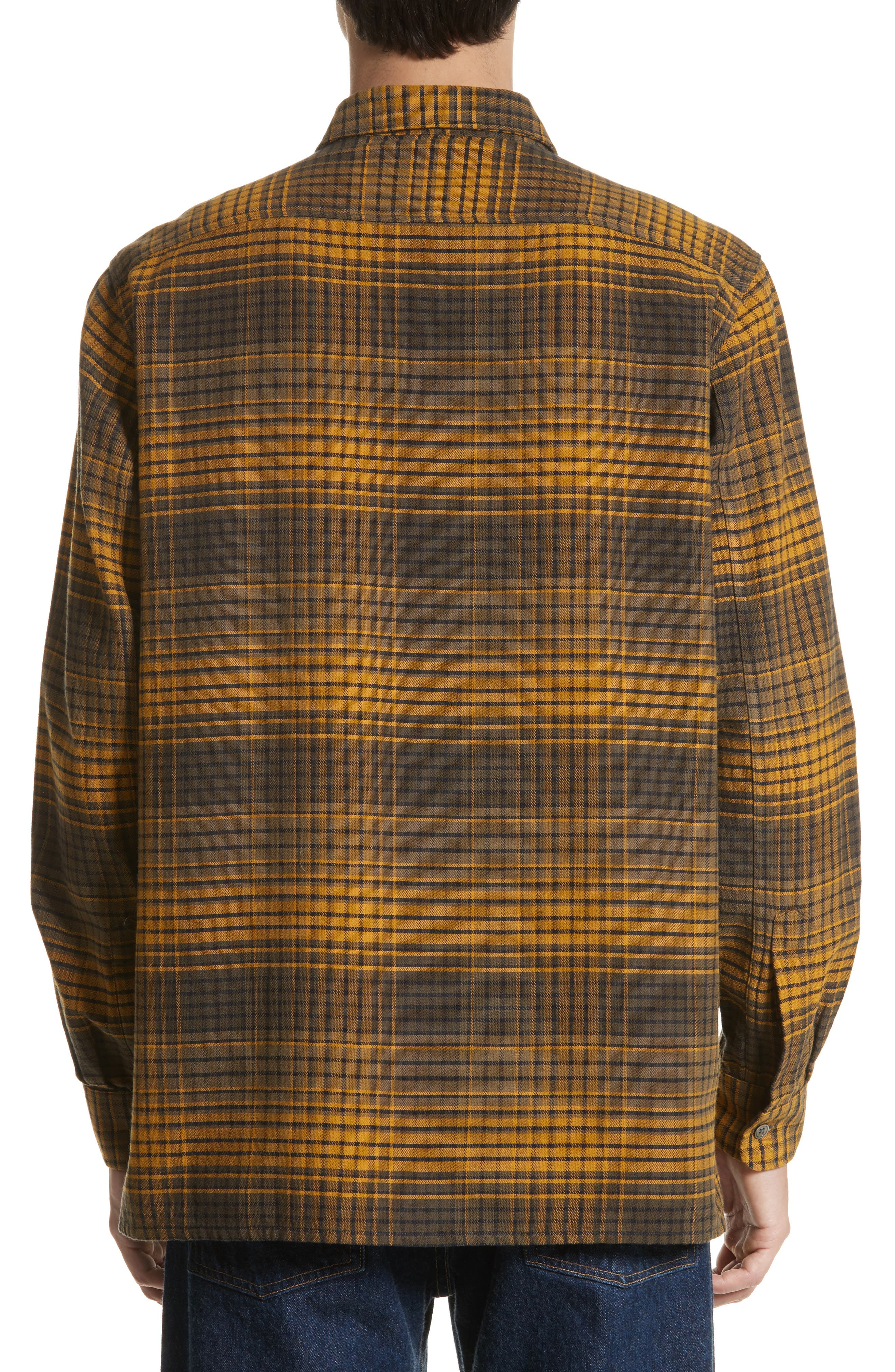 Country Plaid Flannel Shirt,                             Alternate thumbnail 2, color,                             710