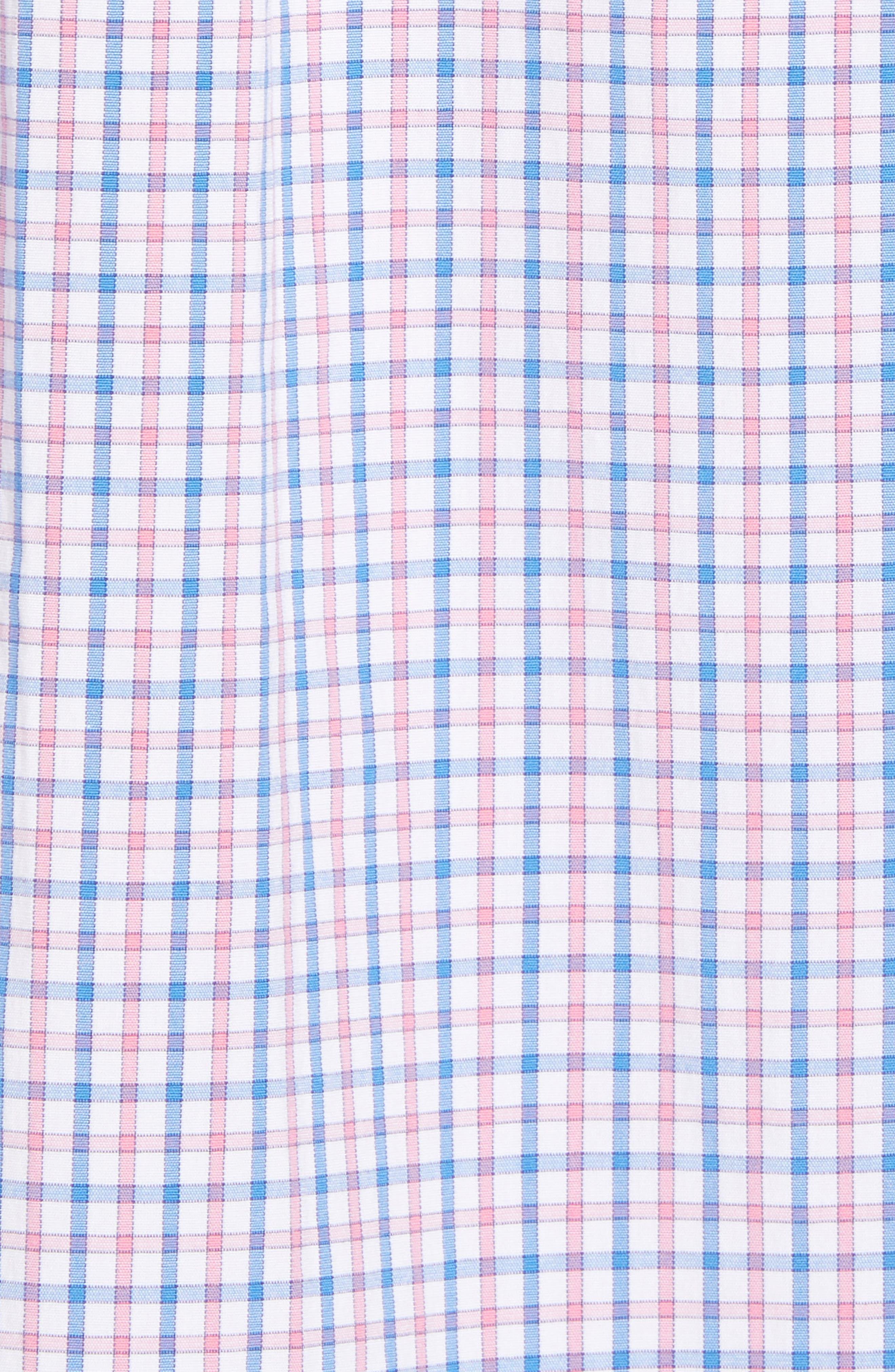 Clark Cove Tucker Classic Fit Check Sport Shirt,                             Alternate thumbnail 19, color,