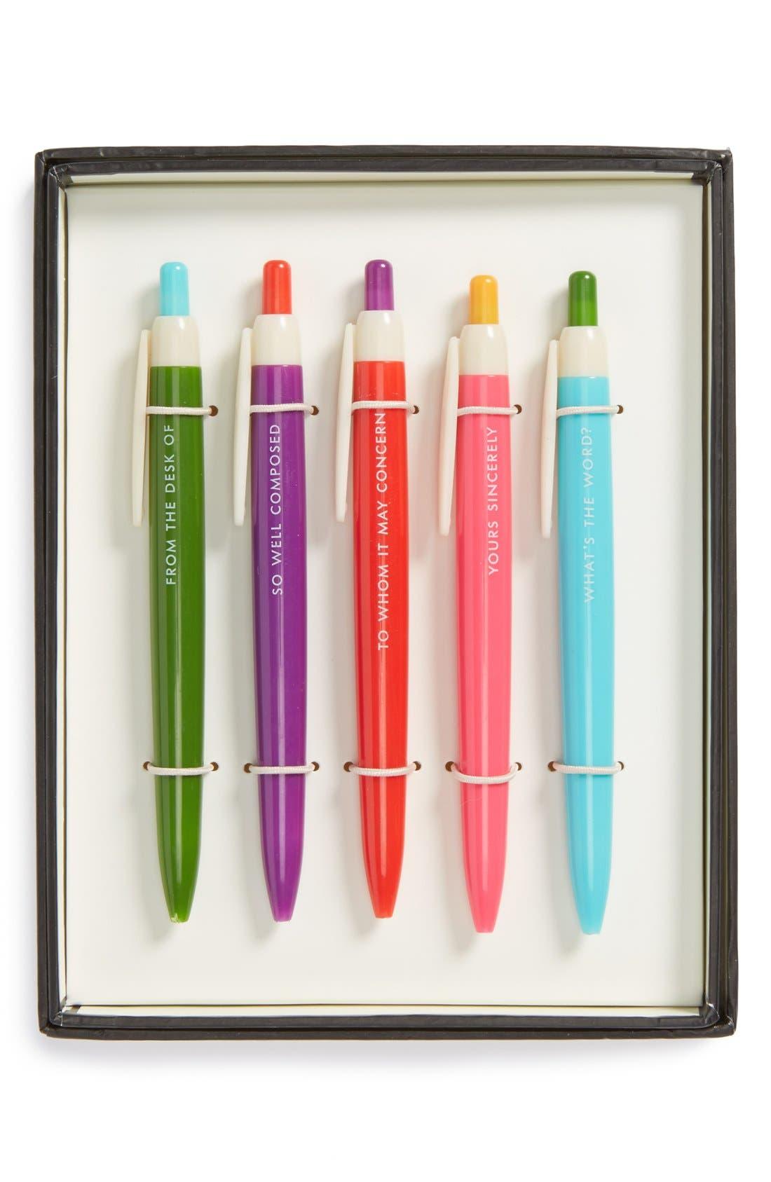 ballpoint pens,                         Main,                         color, 650