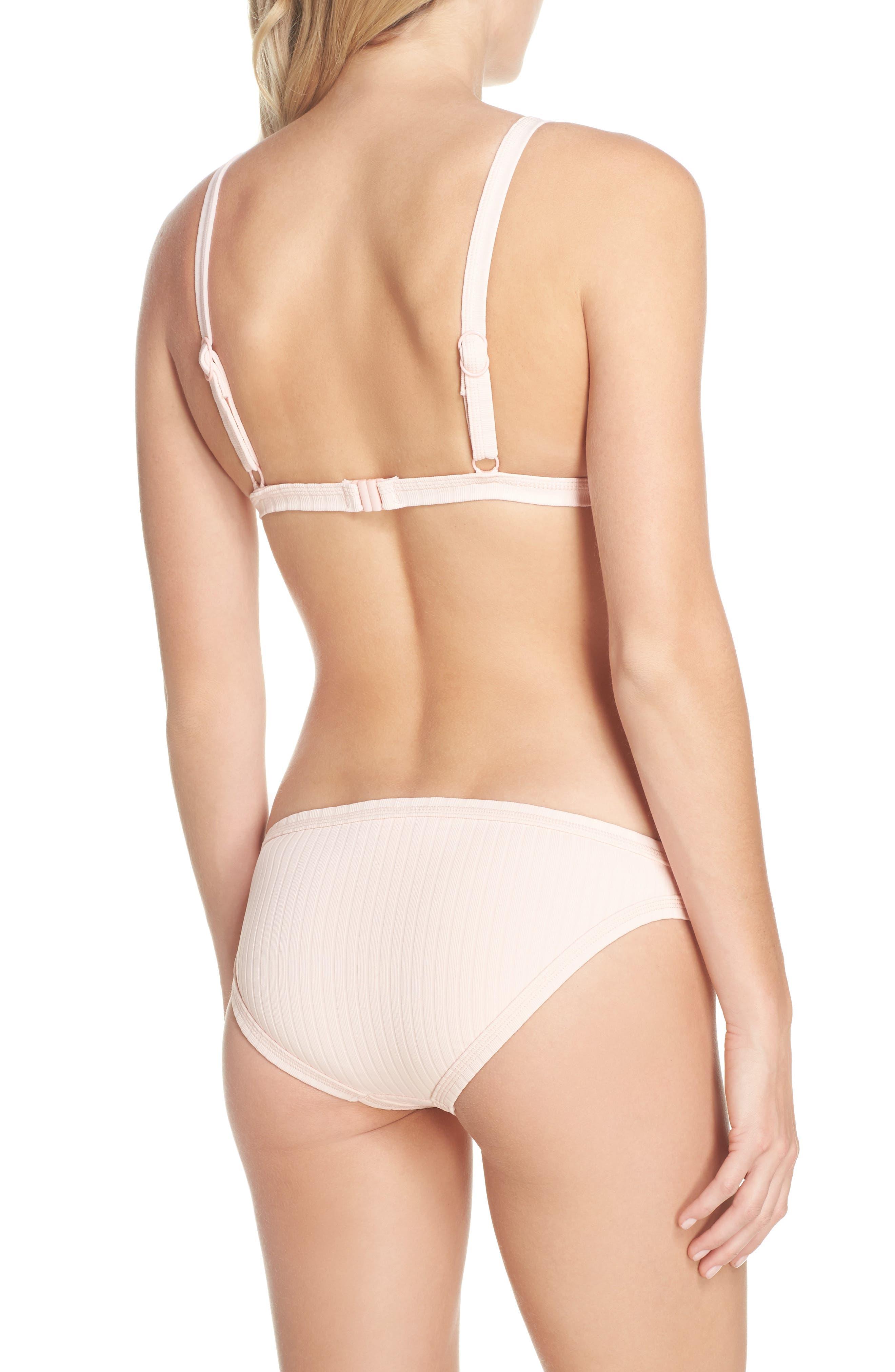 Inka Ribbed Bikini Top,                             Alternate thumbnail 8, color,                             950