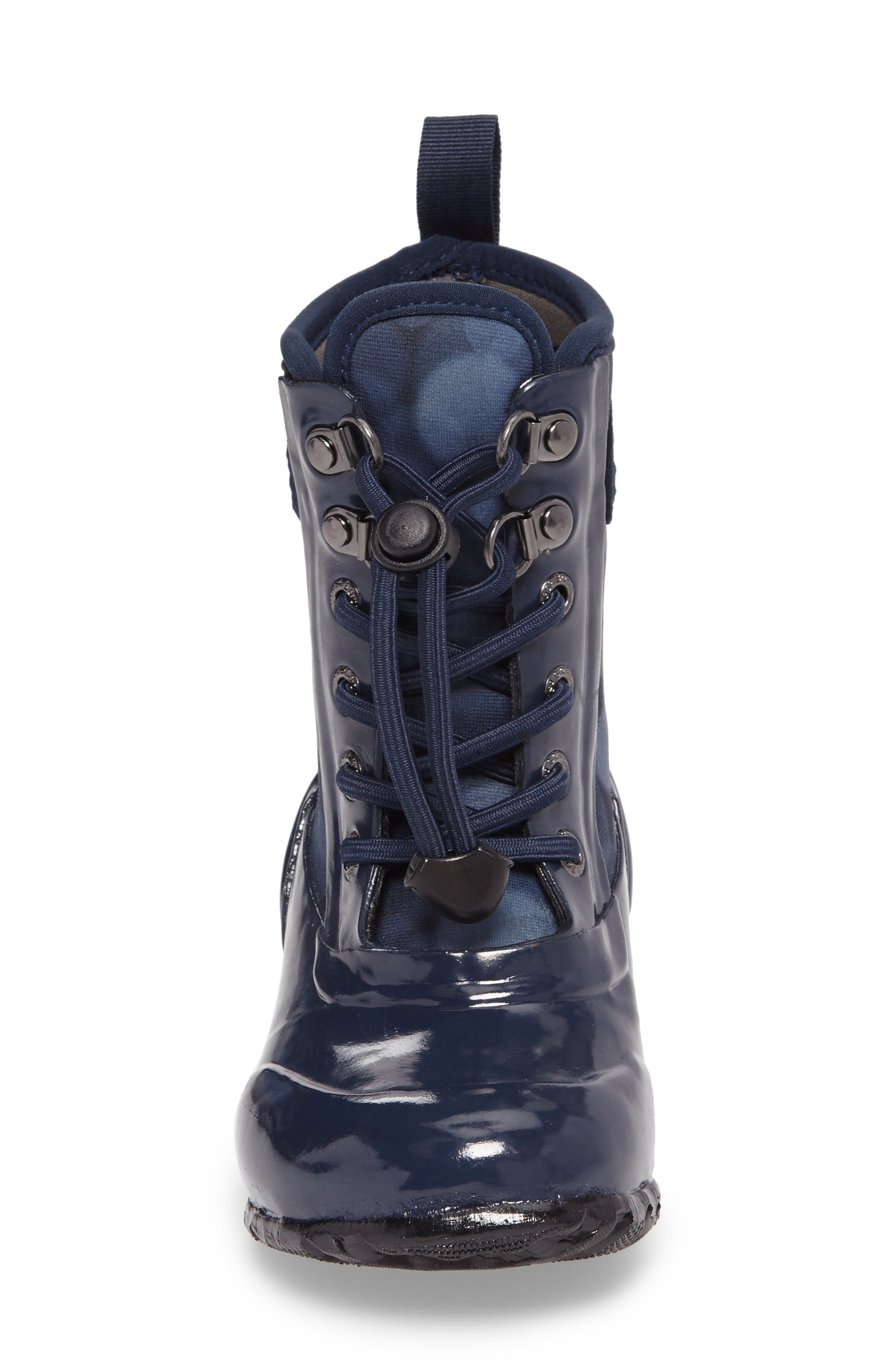 Sidney Waterproof Lace-Up Boot,                             Alternate thumbnail 7, color,