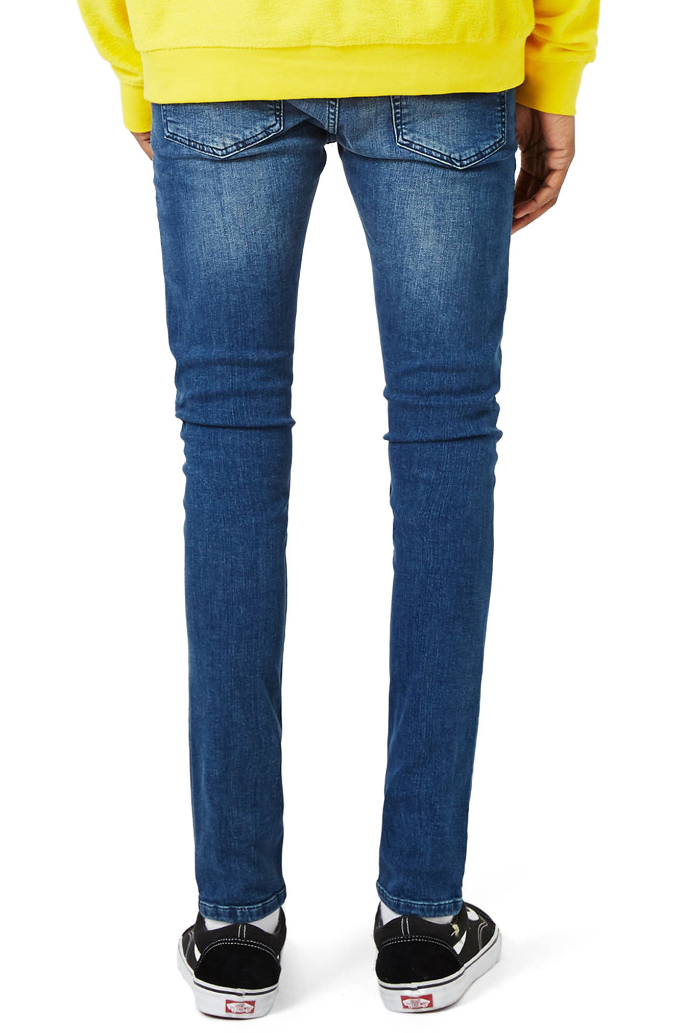 Super Spray On Skinny Fit Jeans,                             Alternate thumbnail 2, color,                             400