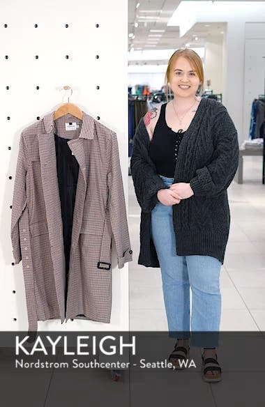 Houndstooth Trench Coat, sales video thumbnail