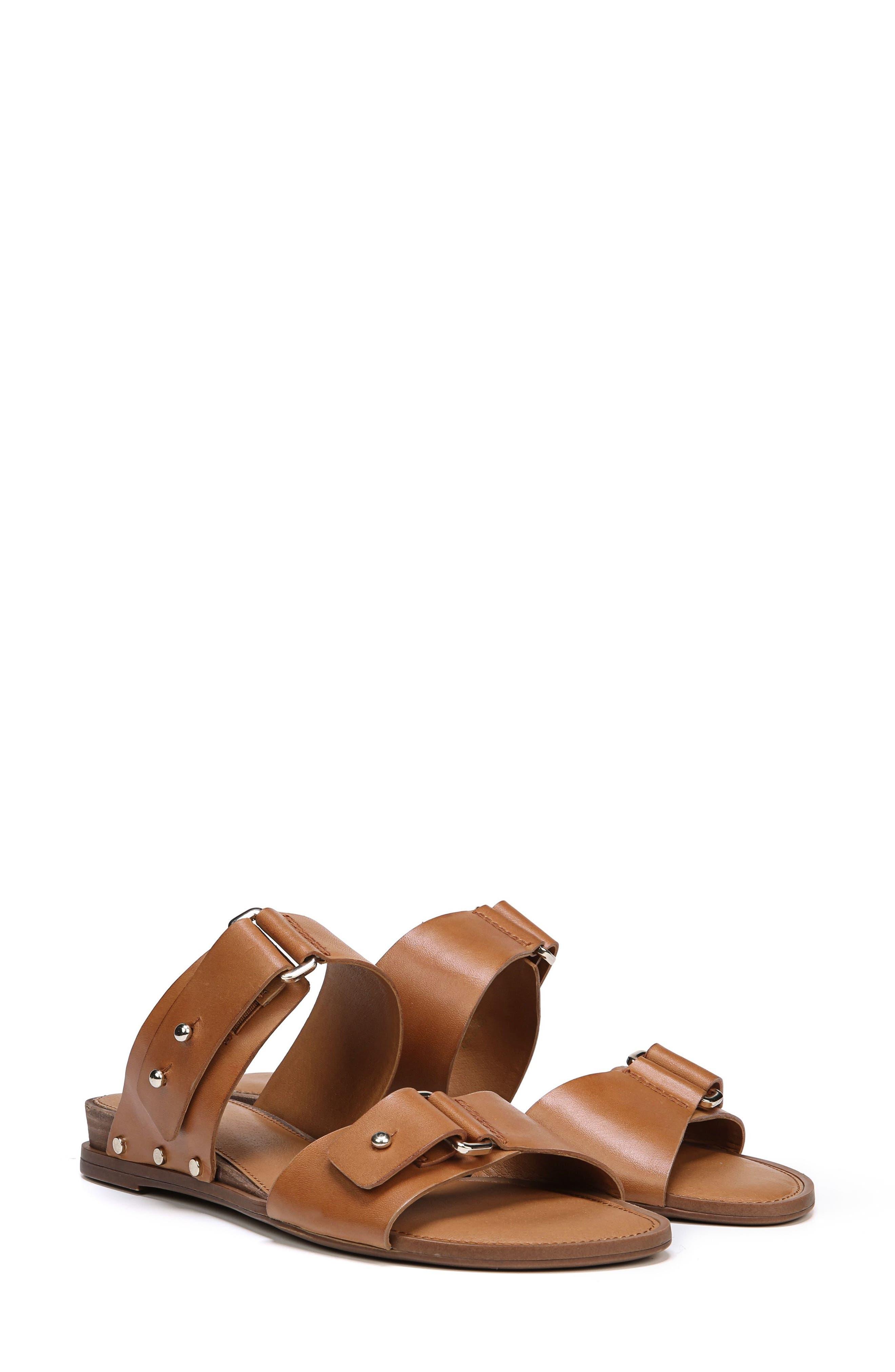 Palomino Genuine Calf Hair Sandal,                             Main thumbnail 4, color,