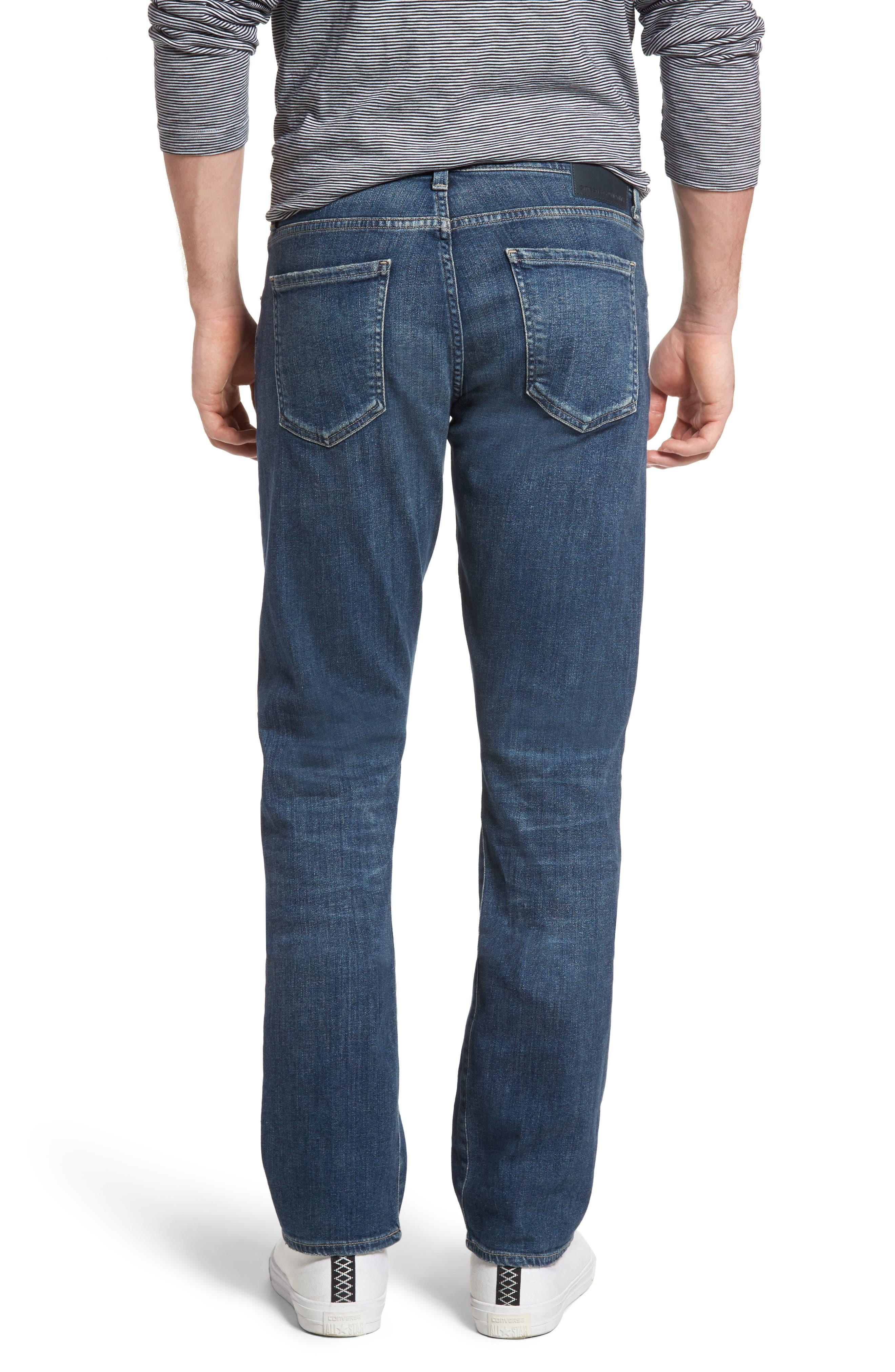 Gage Slim Straight Leg Jeans,                             Alternate thumbnail 2, color,                             REDFORD