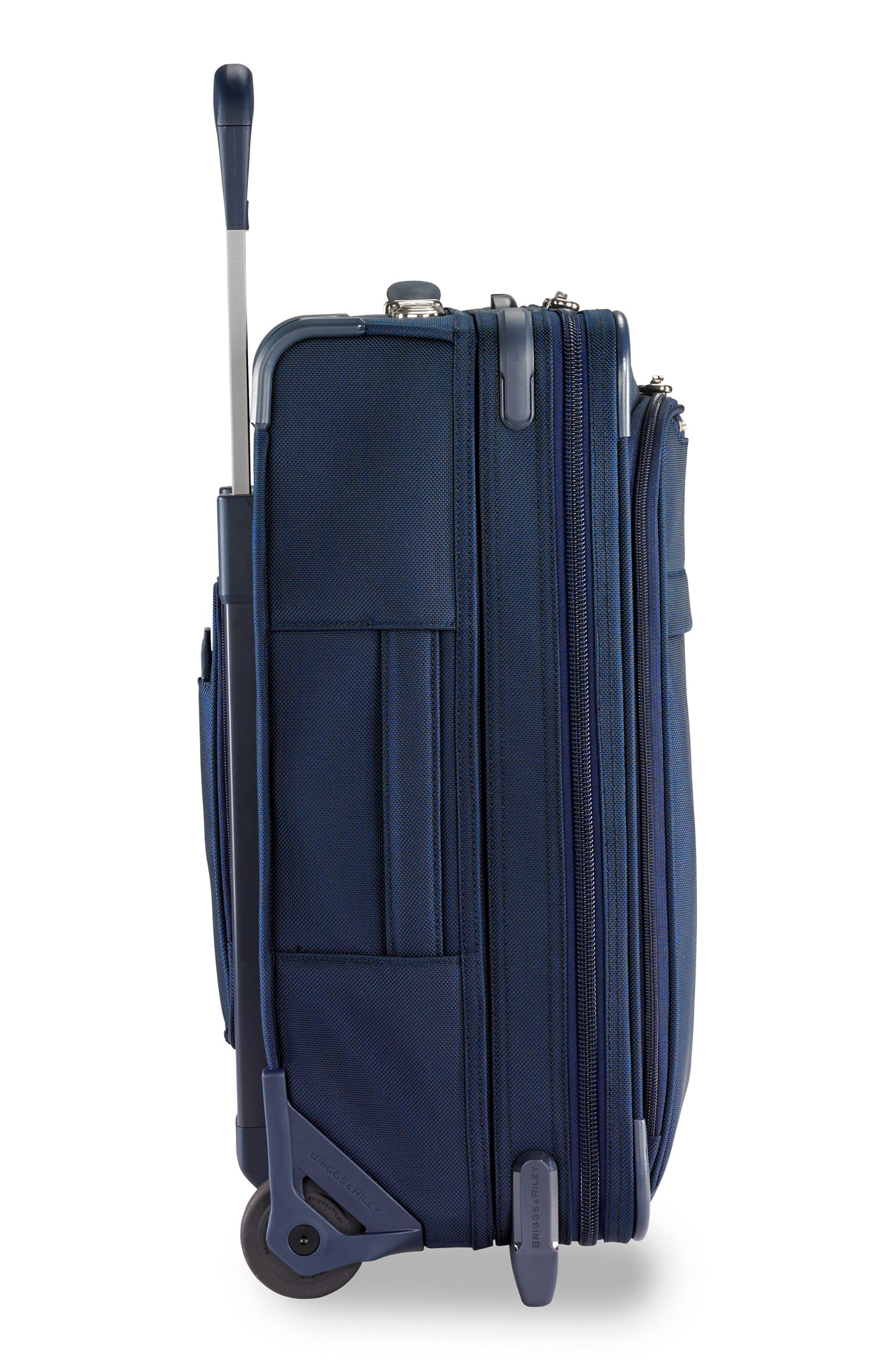 21-Inch Baseline Widebody International Rolling Carry-On,                             Alternate thumbnail 5, color,                             NAVY