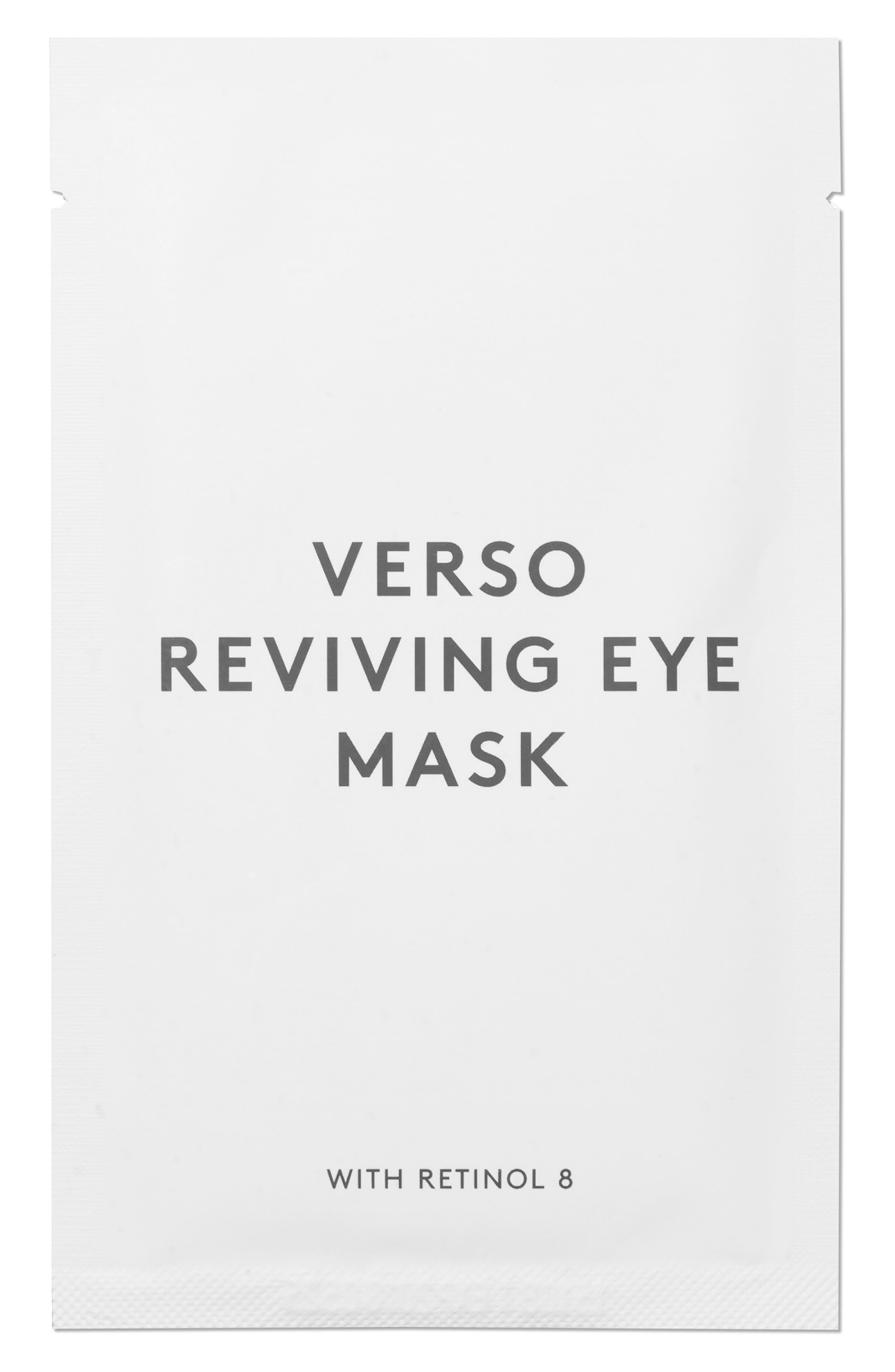 SPACE.NK.apothecary Verso Skincare Eye Reviving Mask,                             Alternate thumbnail 3, color,