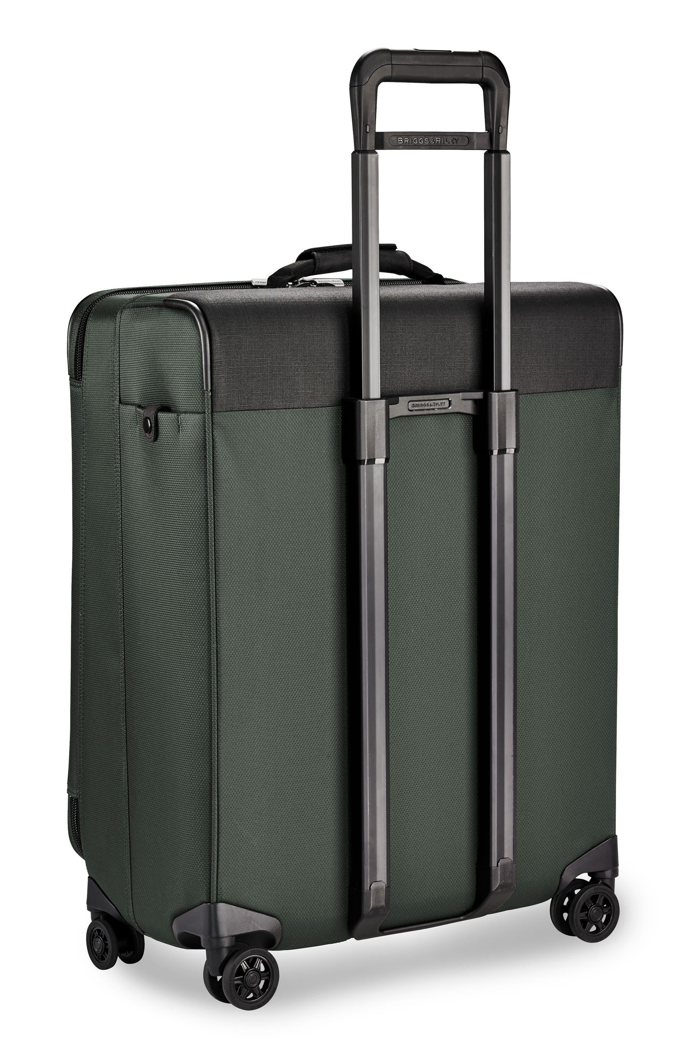 BRIGGS & RILEY,                             Transcend VX Medium Expandable 26-Inch Spinner Suitcase,                             Alternate thumbnail 4, color,                             RAINFOREST GREEN