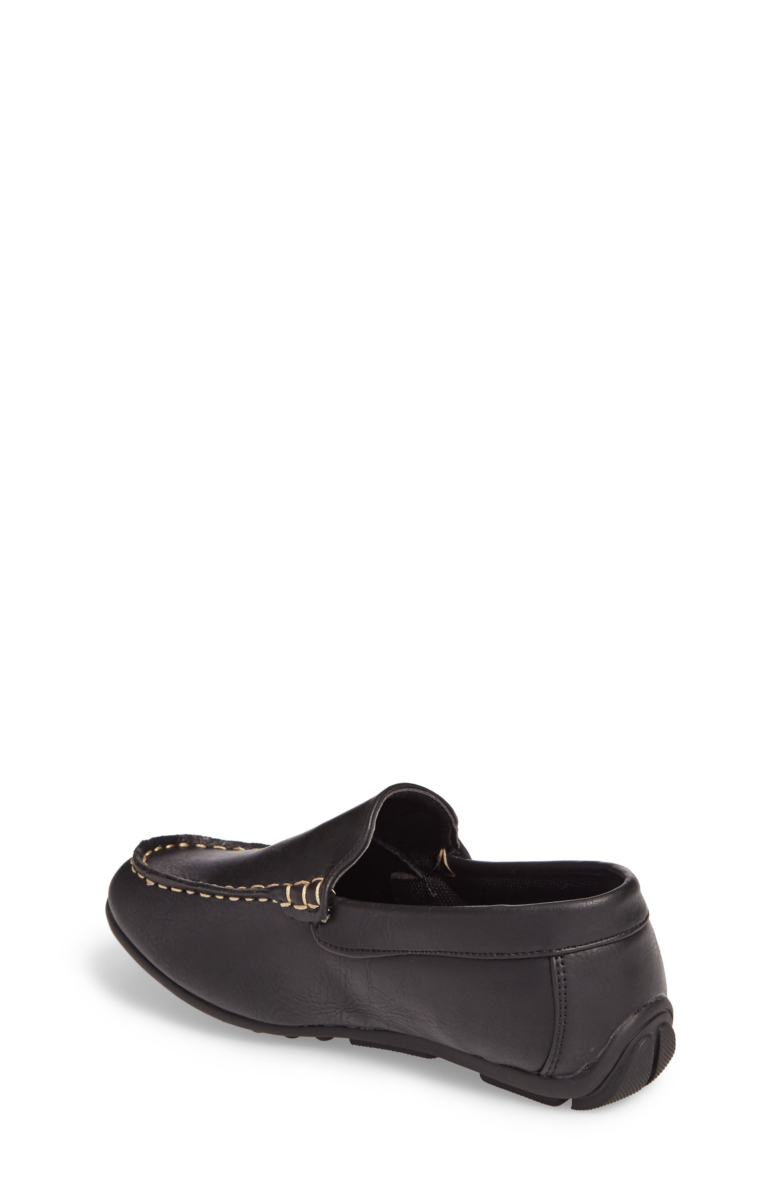 Compton Driving Loafer,                             Alternate thumbnail 2, color,                             BLACK