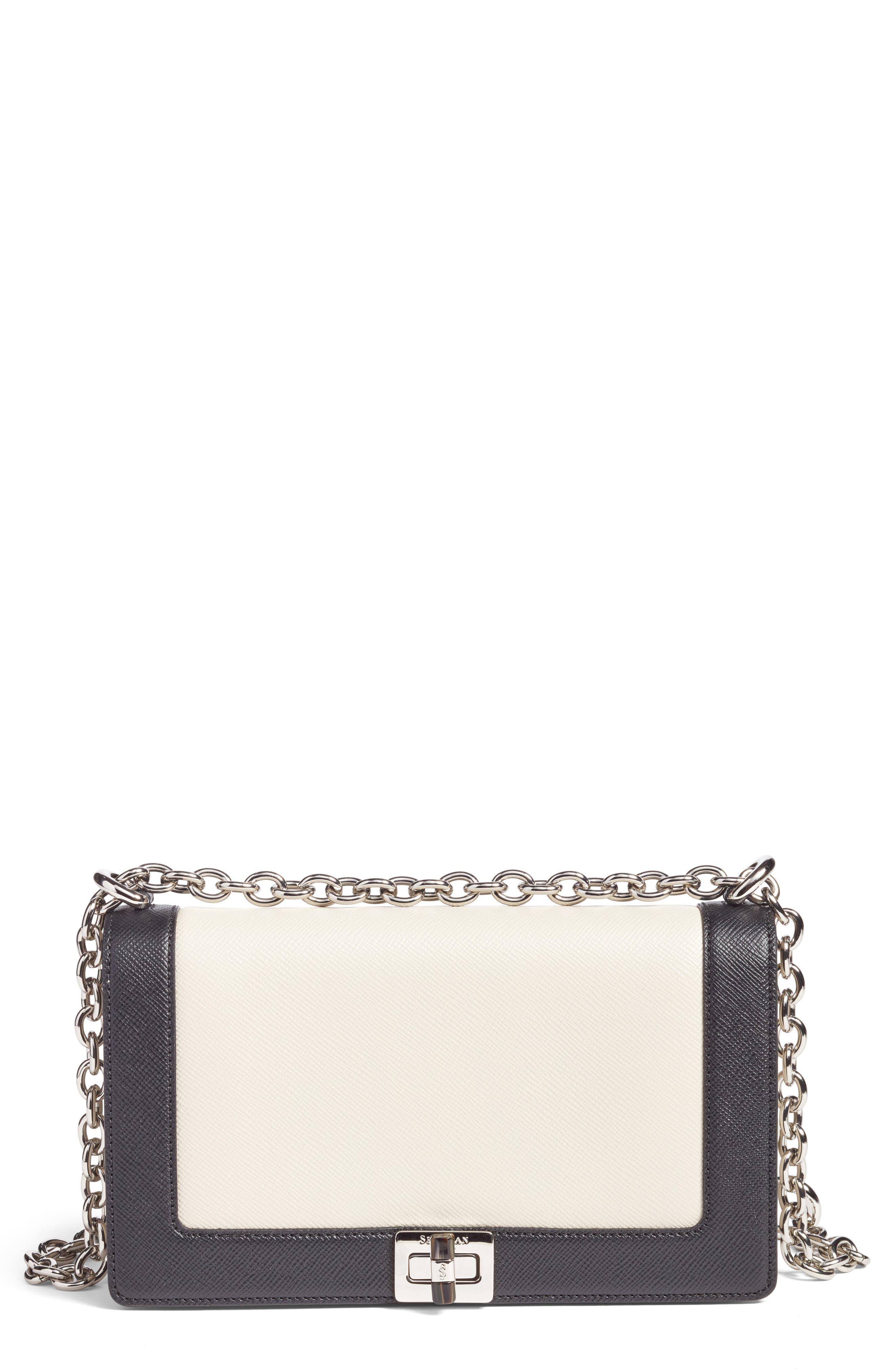 Roberta Evolution Leather Crossbody Bag,                             Main thumbnail 1, color,                             110