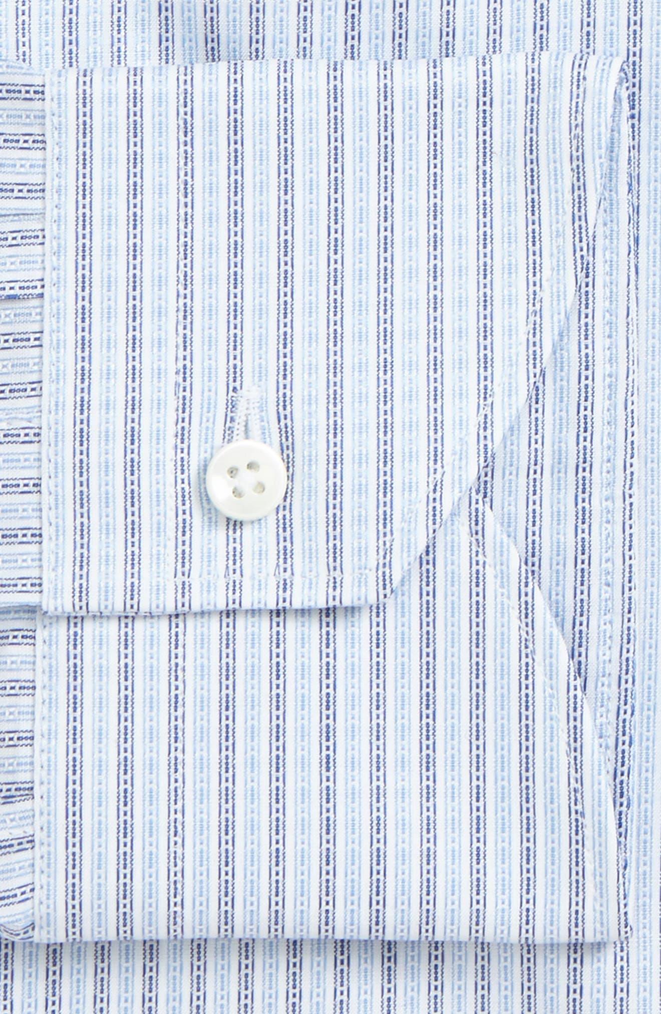 Regular Fit Geometric Dress Shirt,                             Alternate thumbnail 2, color,                             420