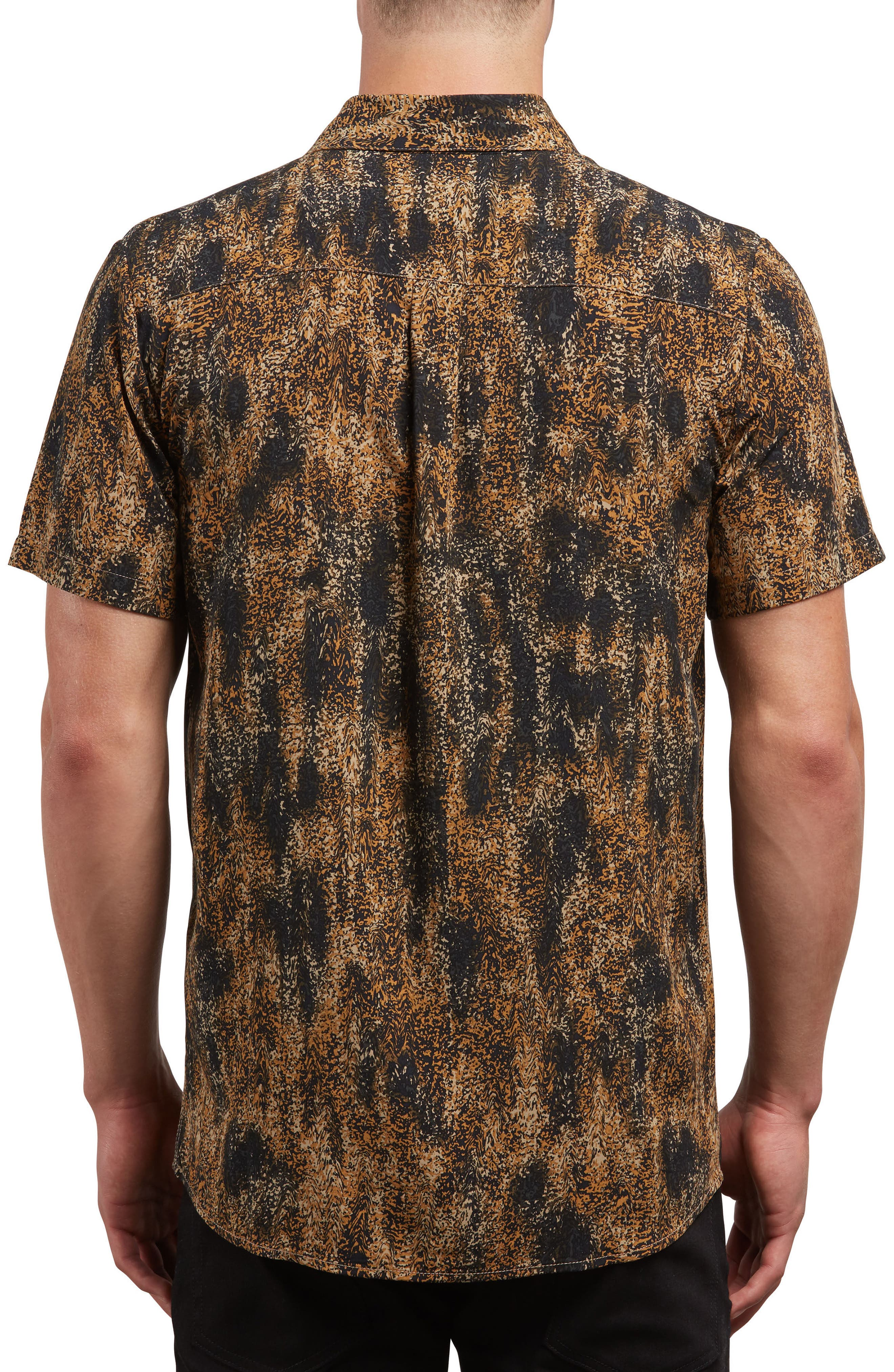 Klasey Woven Shirt,                             Alternate thumbnail 2, color,                             BROWN SAND