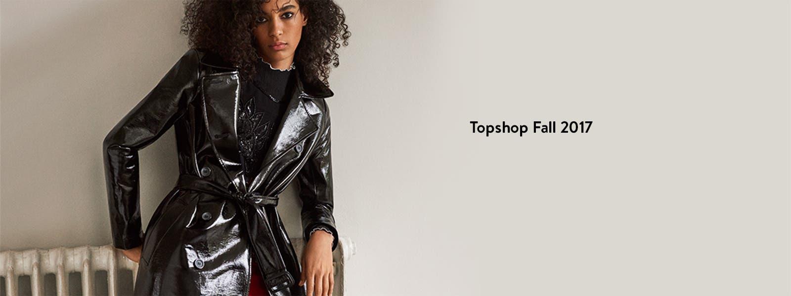 Topshop Fall 2017 clothing.