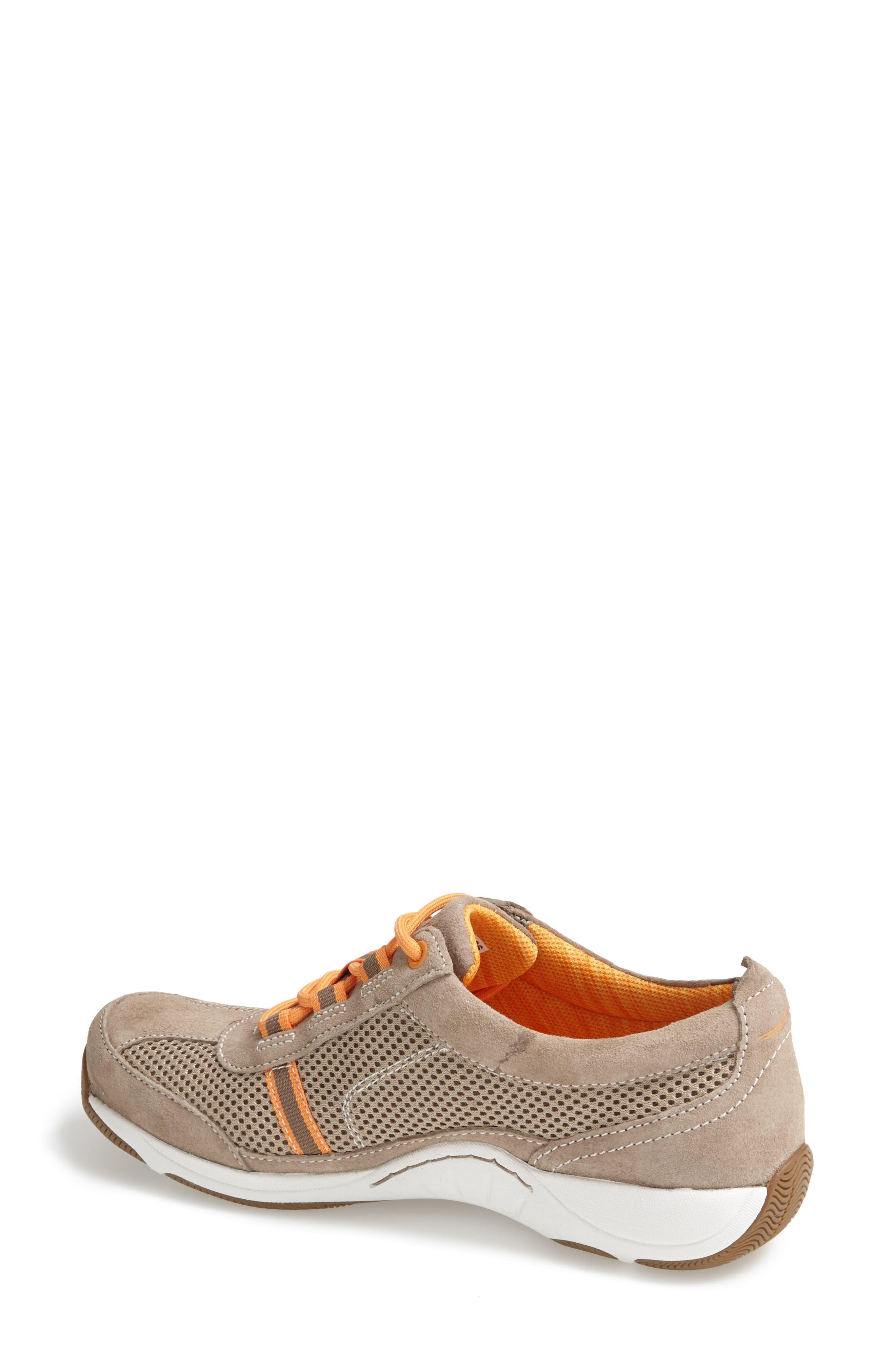 'Helen' Suede & Mesh Sneaker,                             Alternate thumbnail 69, color,