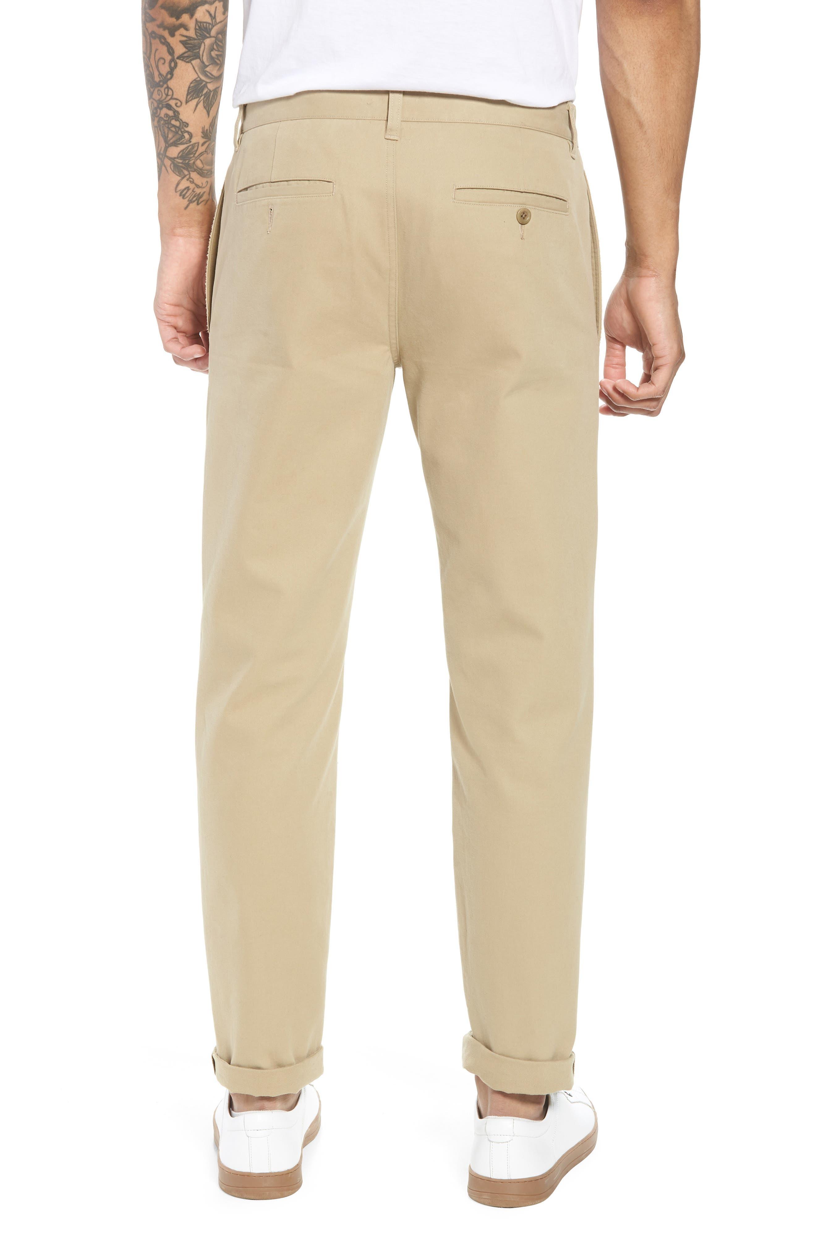 Flat Front Chino Pants,                             Alternate thumbnail 2, color,                             250