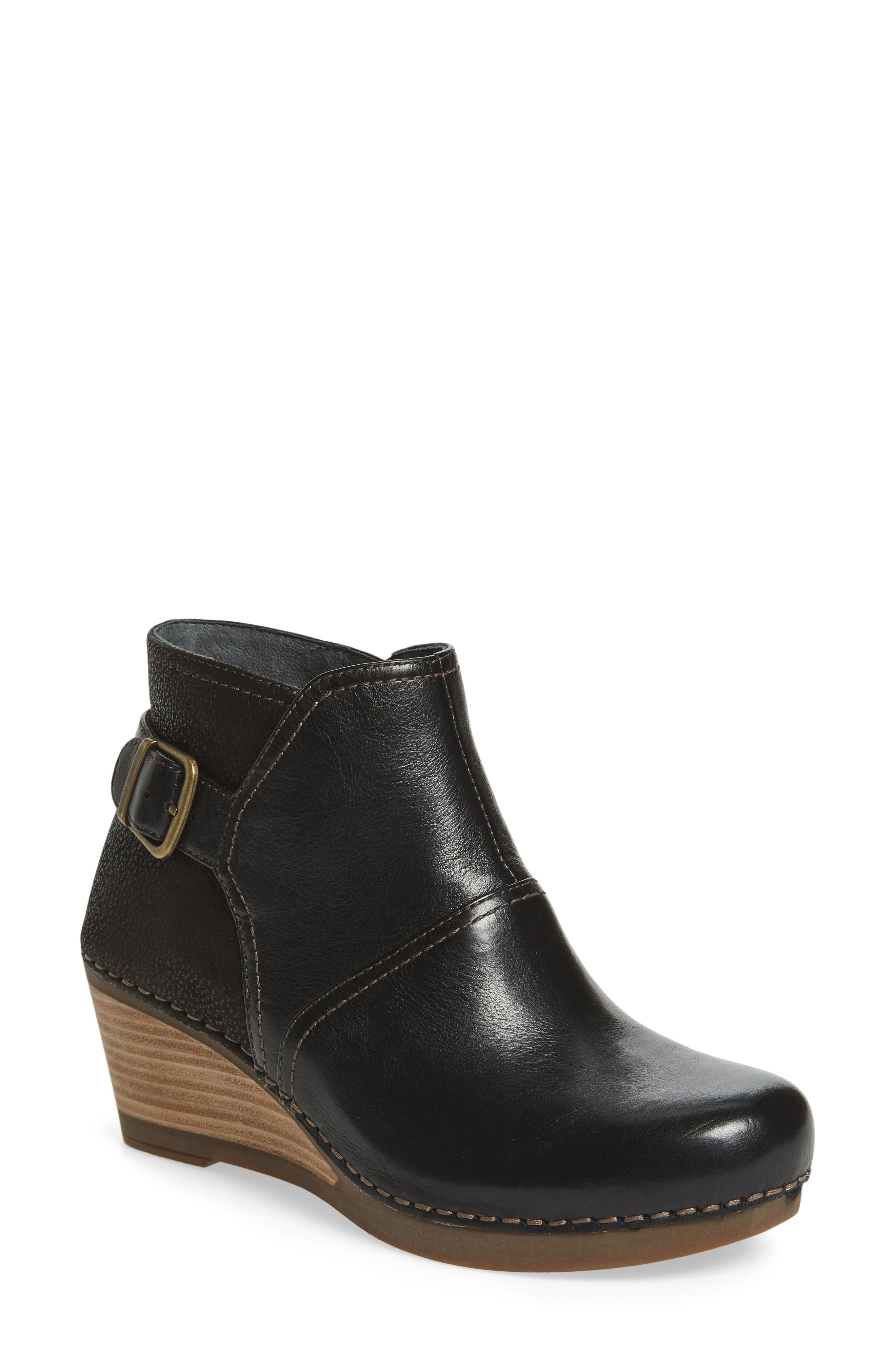 'Shirley' Wedge Bootie,                             Main thumbnail 2, color,