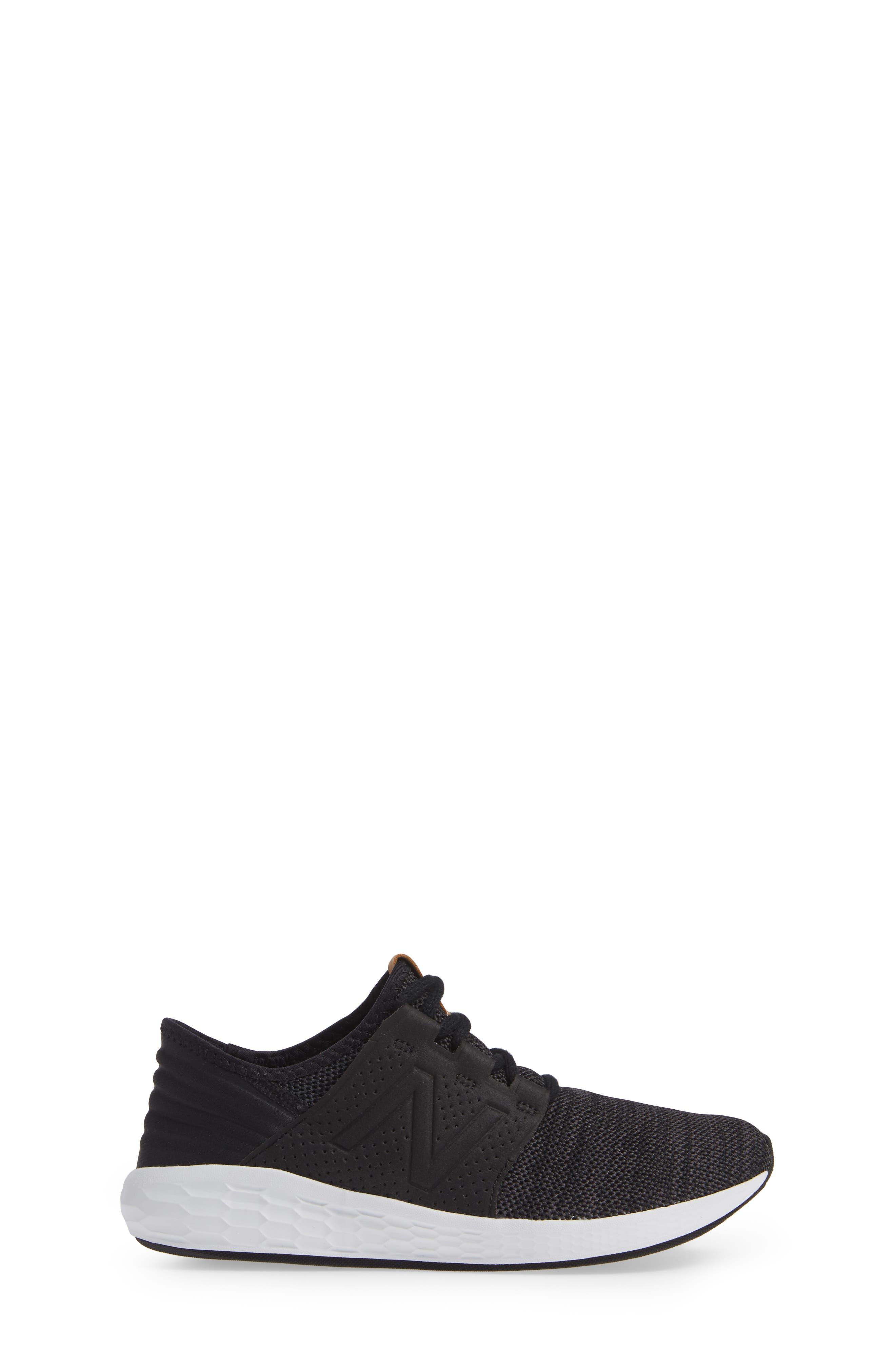 Cruz V2 Sport Sneaker,                             Alternate thumbnail 3, color,                             BLACK/ MAGNET