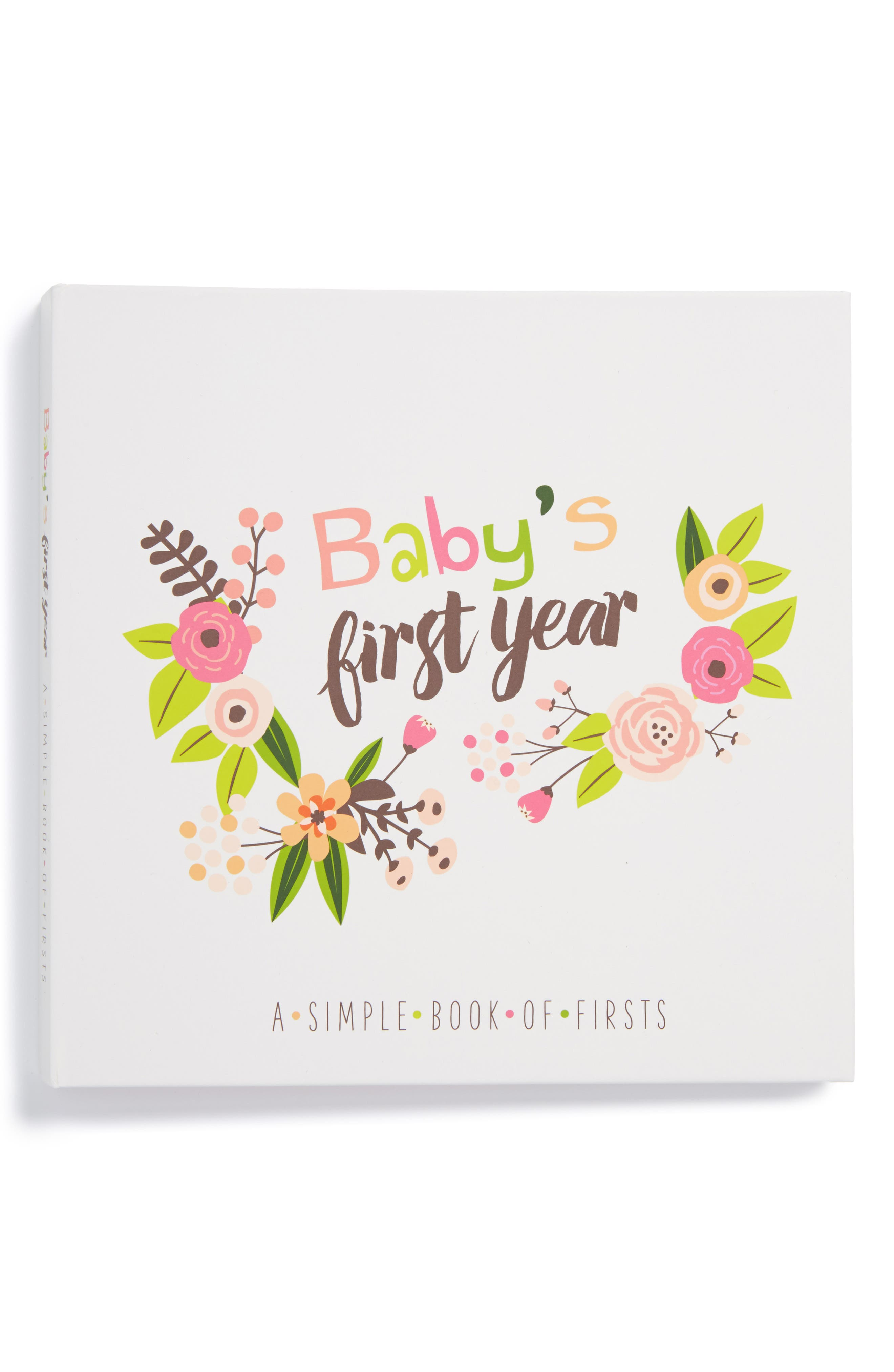 Lucy Darling Babys First Year Memory Book Size One Size  Pink
