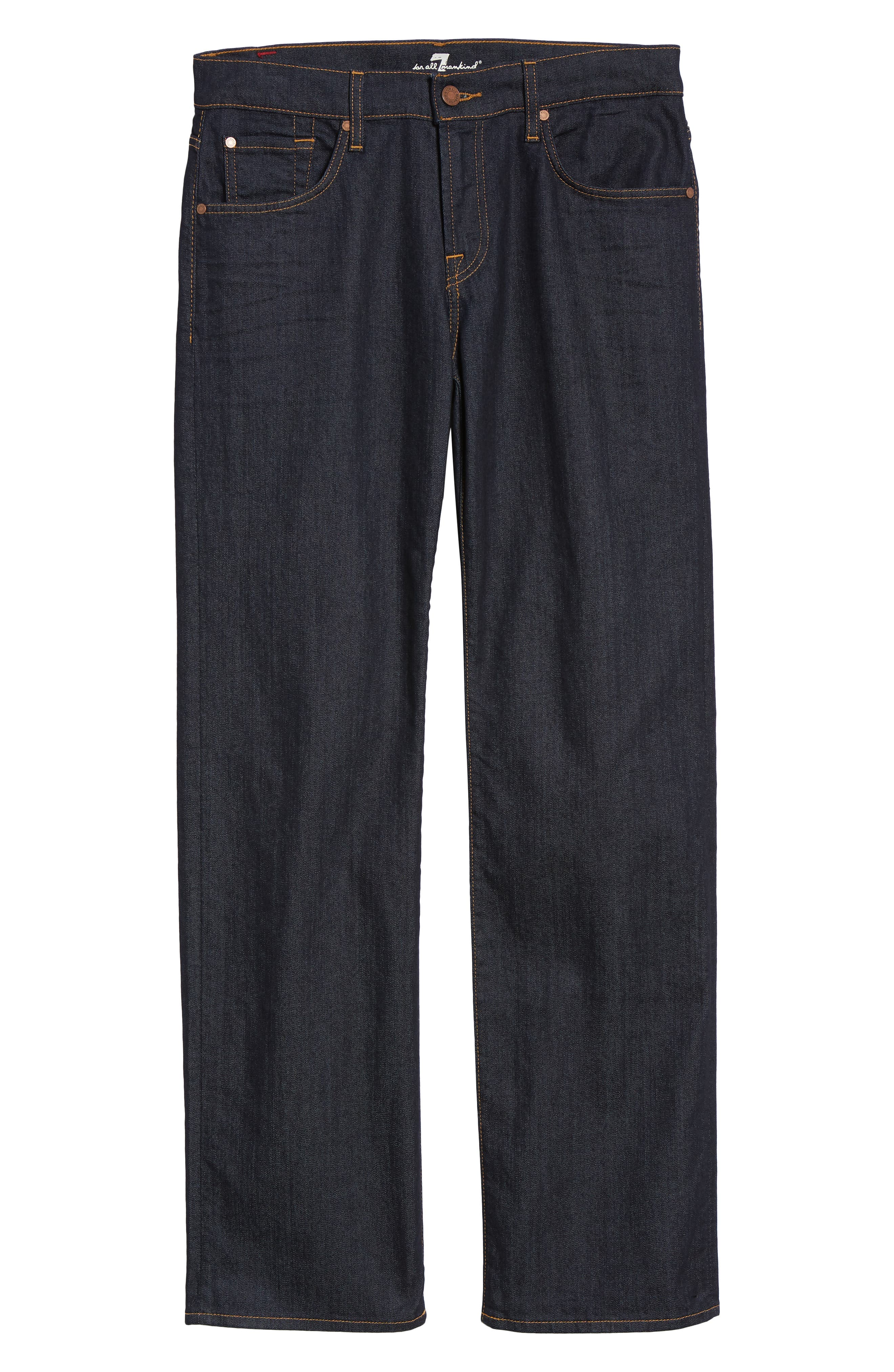 Austyn Airweft Relaxed Straight Leg Jeans,                             Alternate thumbnail 6, color,                             CAVEAT