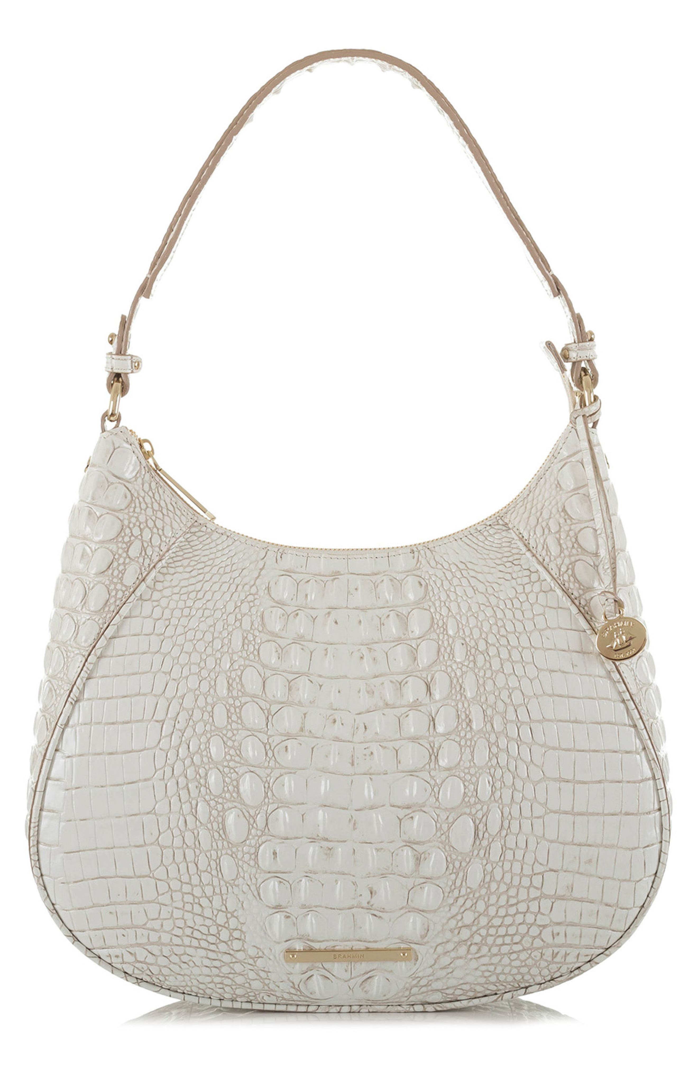 BRAHMIN Melbourne Amira Shoulder Bag, Main, color, 100
