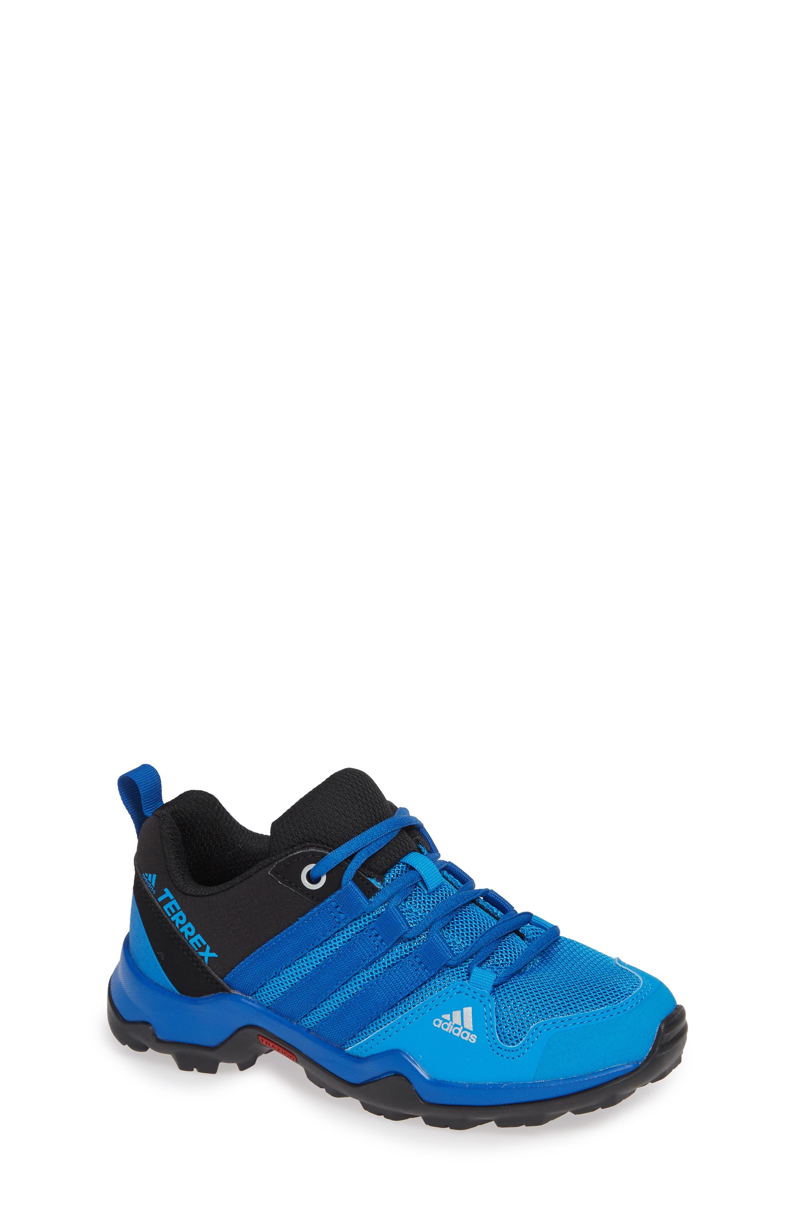 Terrex AX2R CP Sneaker,                         Main,                         color, BLACK/ BLUE BEAUTY/ BLACK