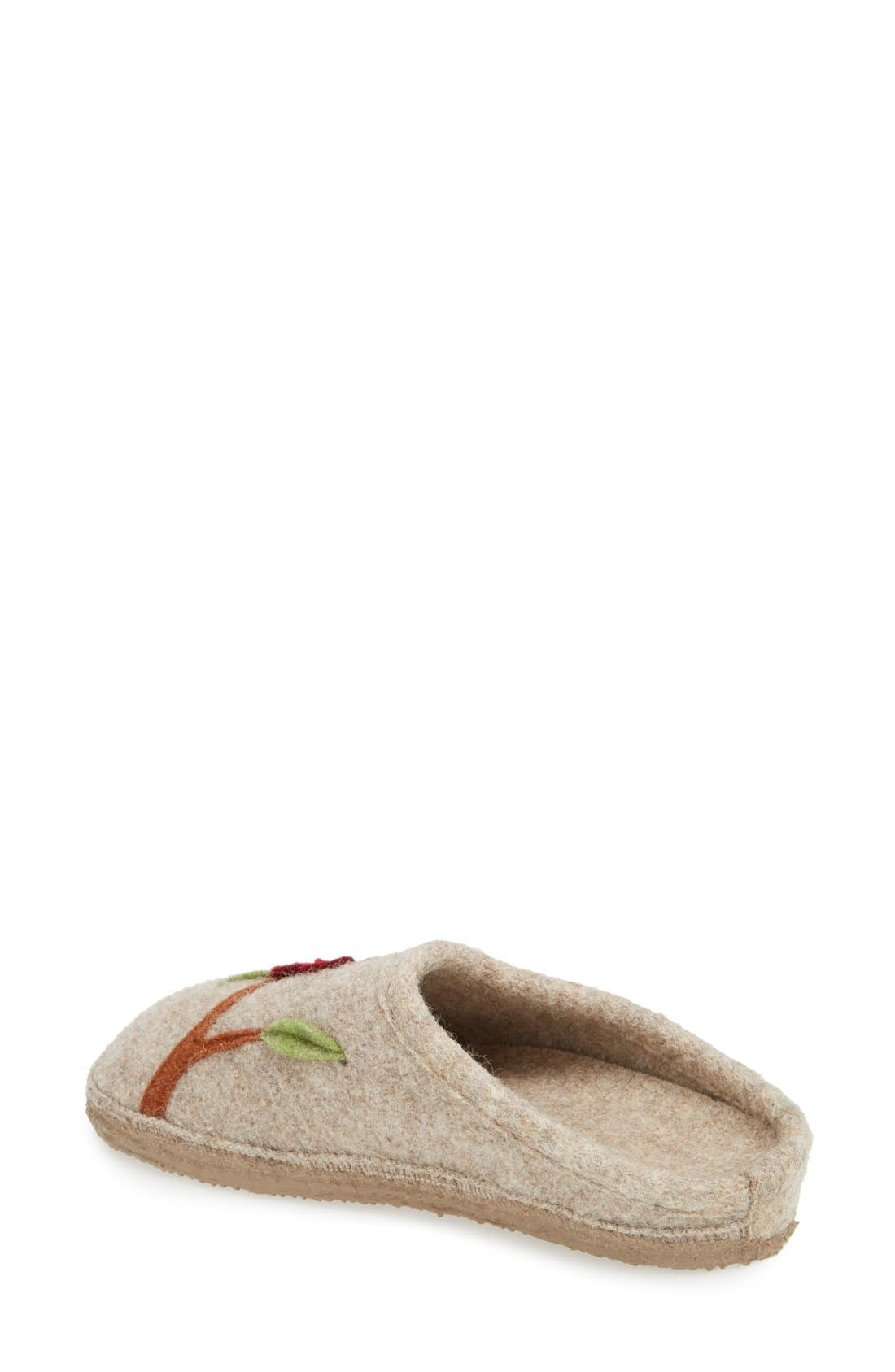 'Angela' Wool Slipper,                             Alternate thumbnail 6, color,
