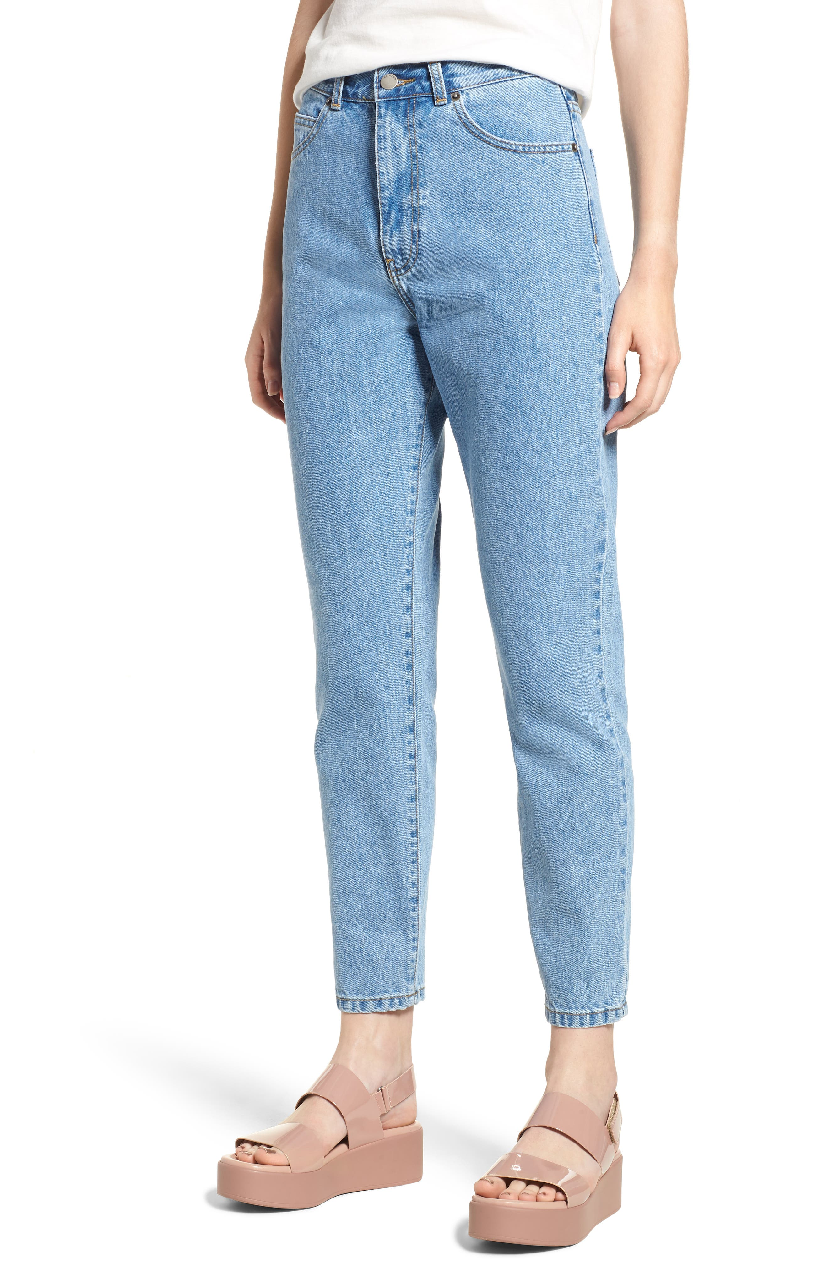 Nora Mom Jeans,                         Main,                         color, 400
